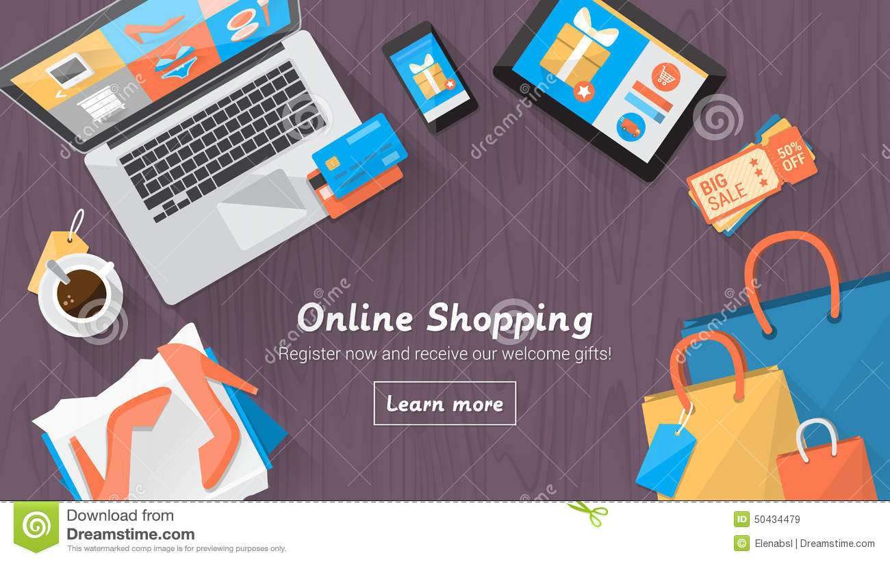 online-shopping-desktop-concept-computer-table-bags-credit-cards-coupons-products-50434479.jpg