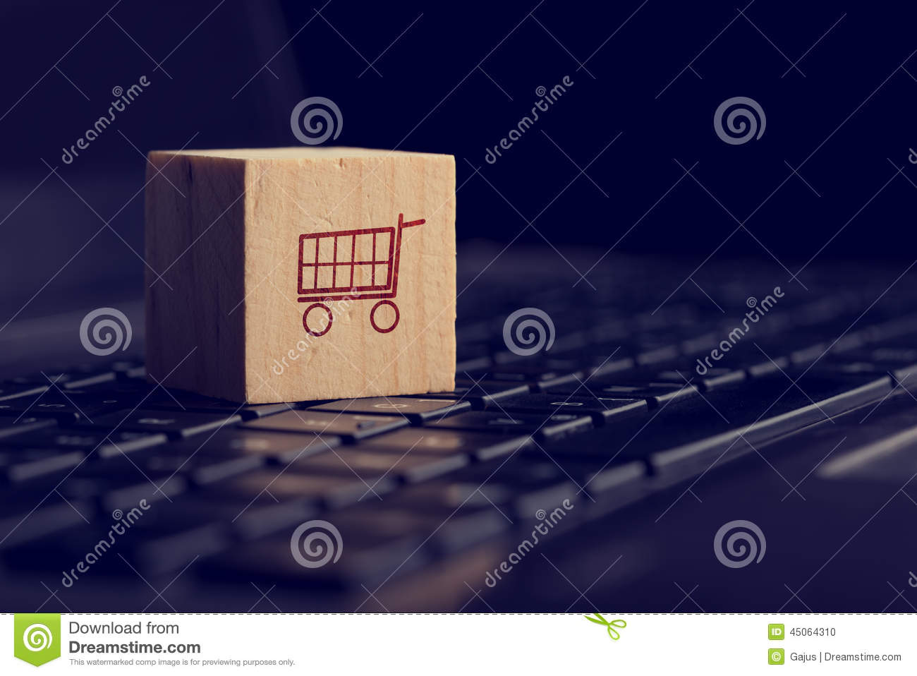 E commerce background images - Online Shopping And E Commerce Background Stock Photo