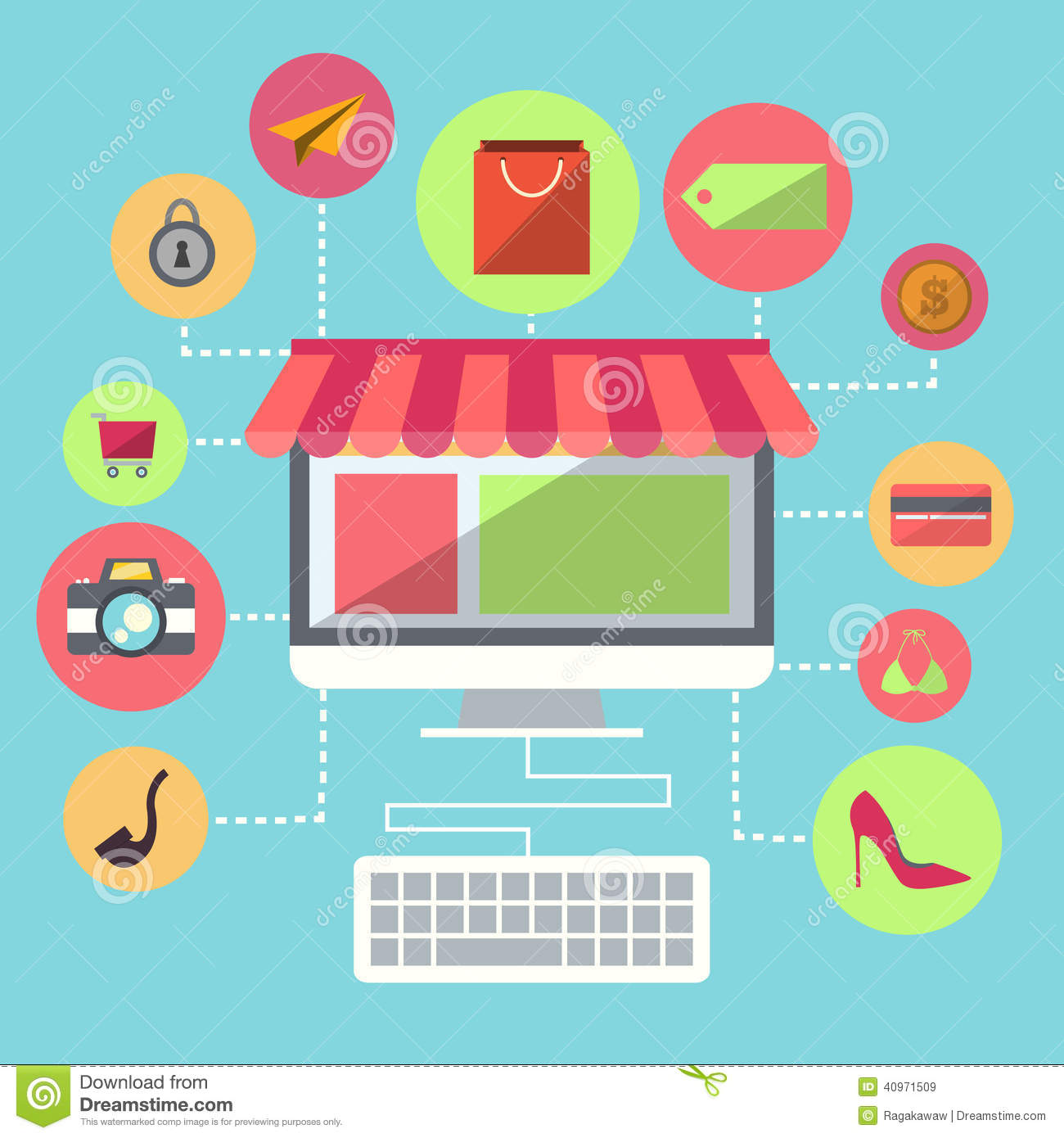 Online store Everything you need to start an online store and sell online Selling online with your own ecommerce website has never been easier, faster, or more scalable.