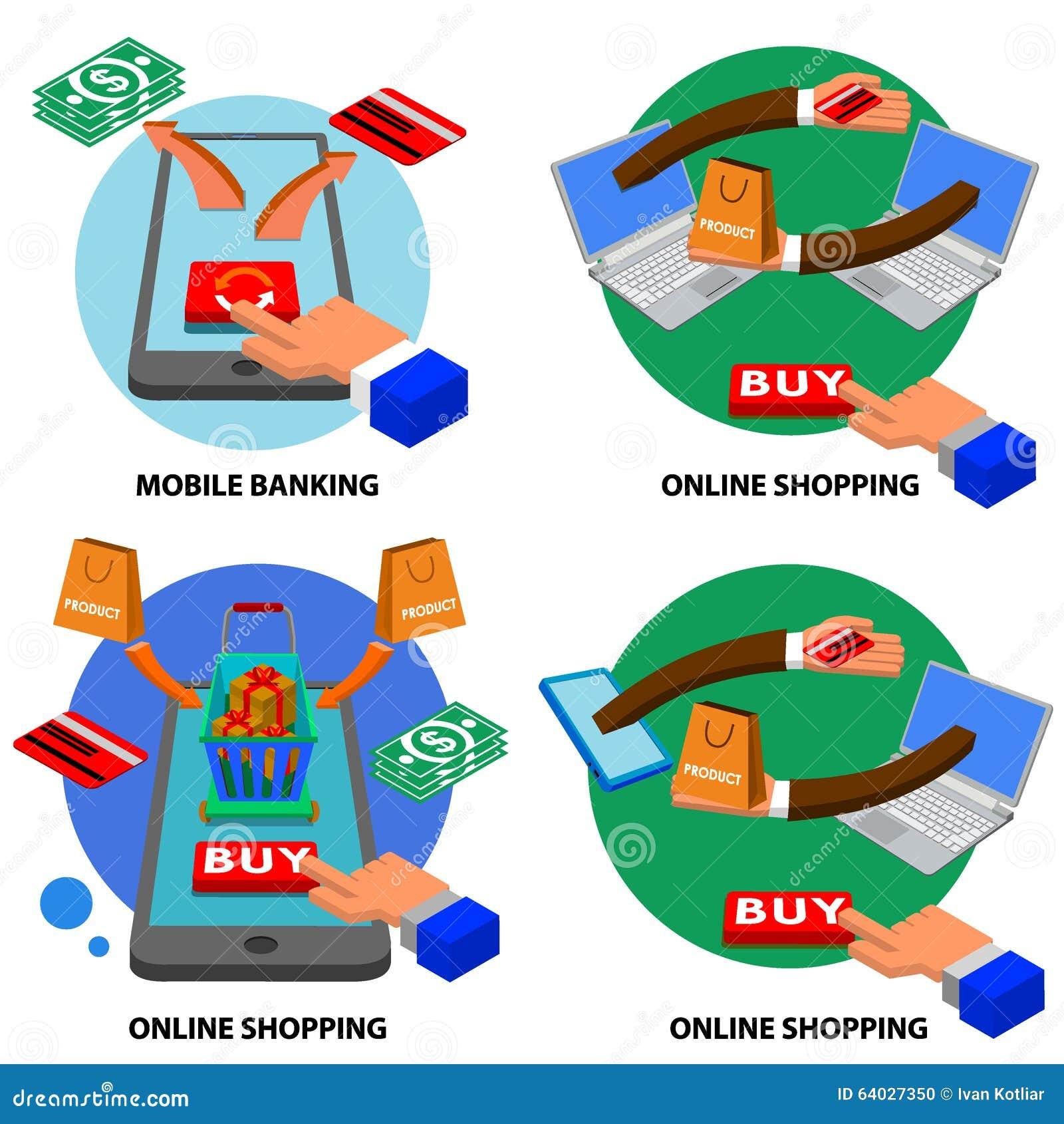 Bank online shop