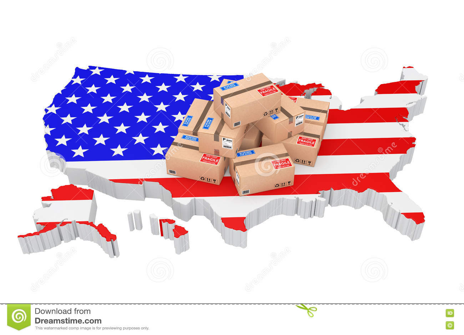 Renderi cartoons illustrations vector stock images 87 - Online shopping usa ...