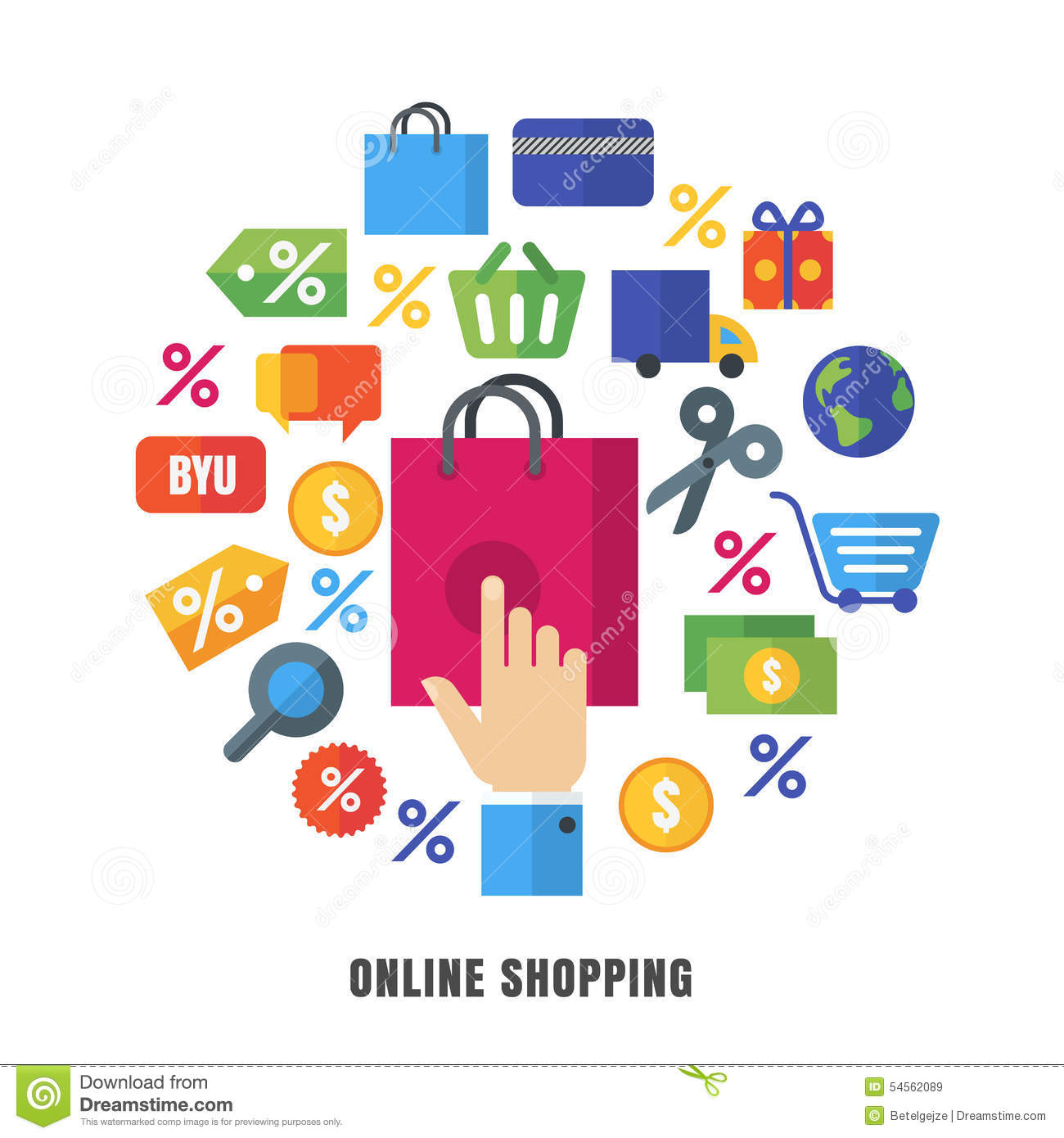 Customer Shopping Icon