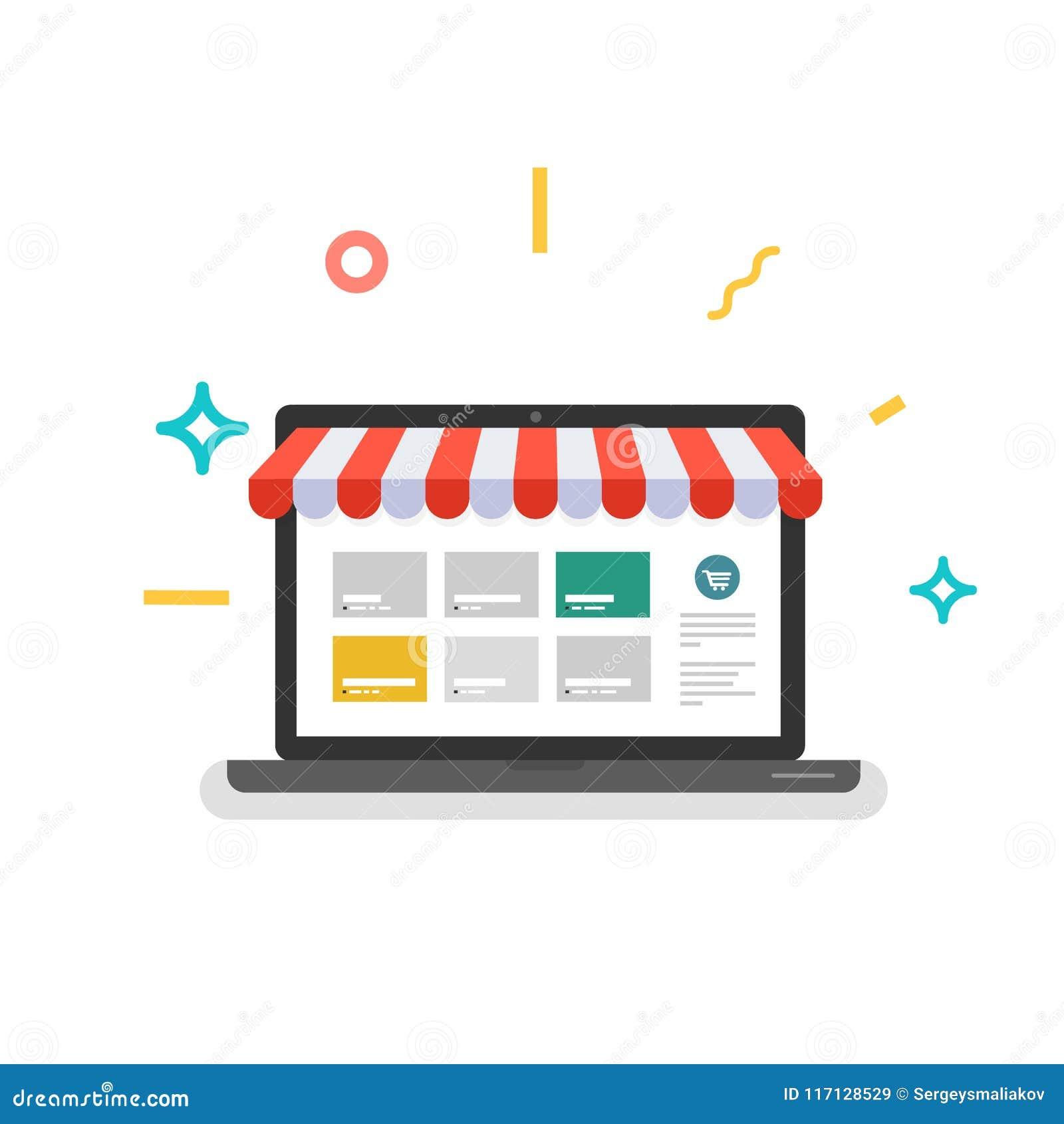 Online sklep Sieć sklep