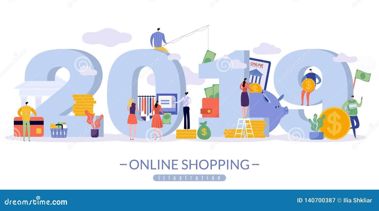 Online sprzedaż sztandar z wizerunkiem 2019 w wielkim druku