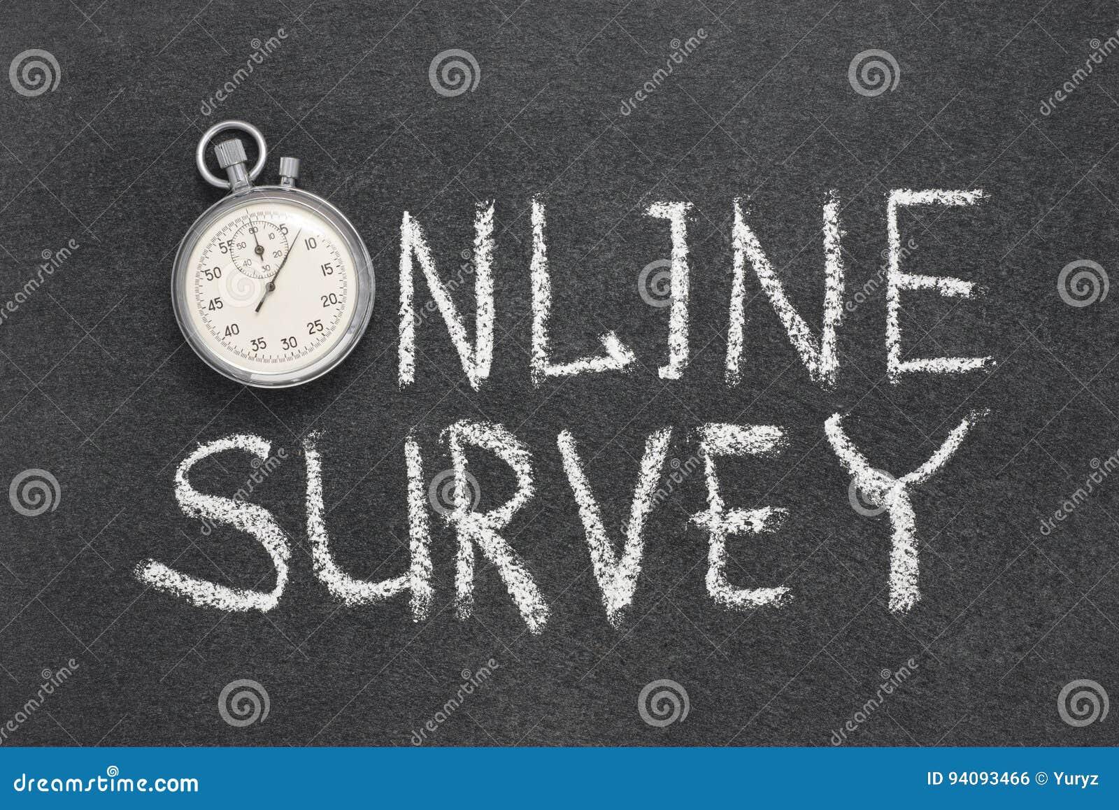 Online survey watch