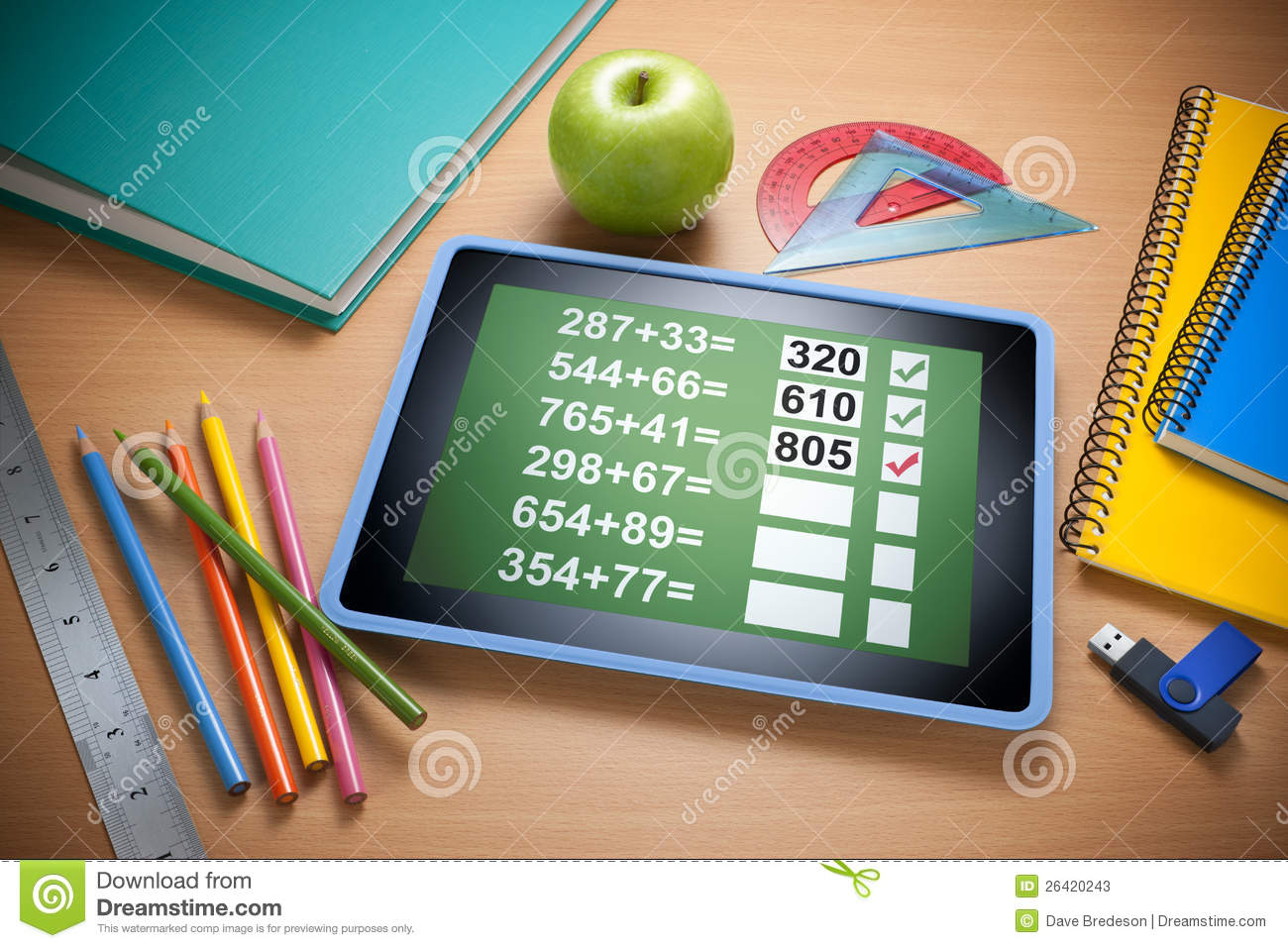 Online Technology Education Learning Stock Photos Image