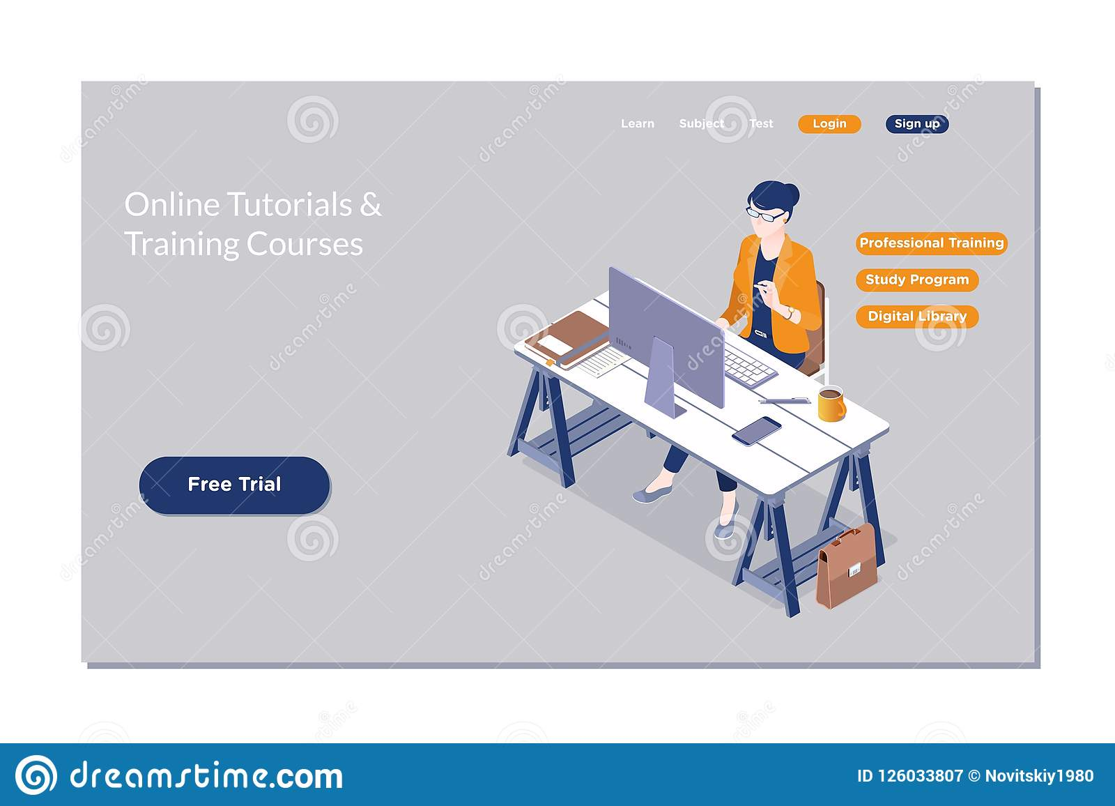 Online Training, Workshops And Courses Visualization