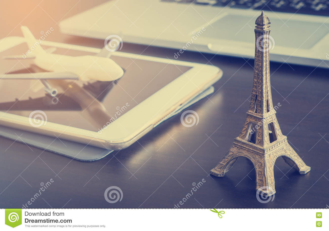 online travel agency to france paris royalty free stock photography 81485849. Black Bedroom Furniture Sets. Home Design Ideas