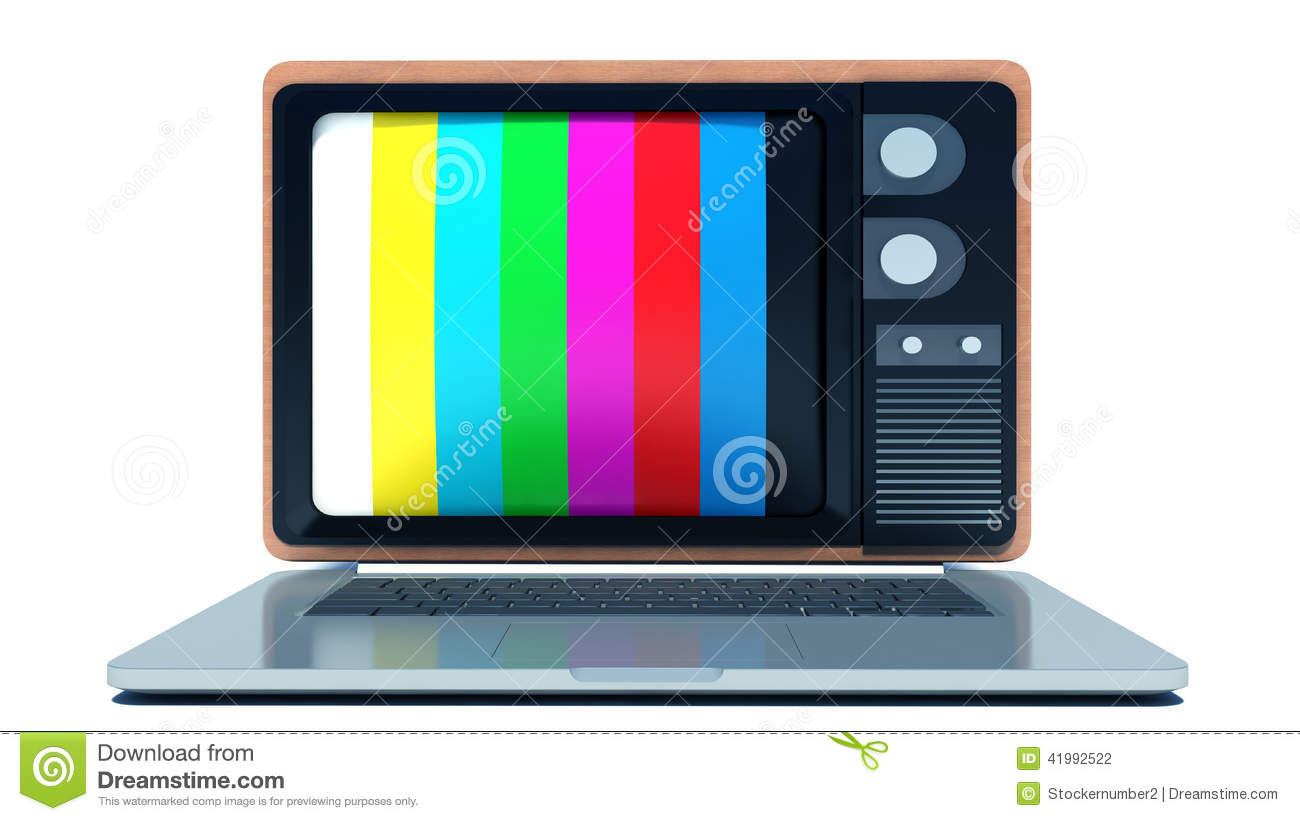 how to use laptop screen as tv