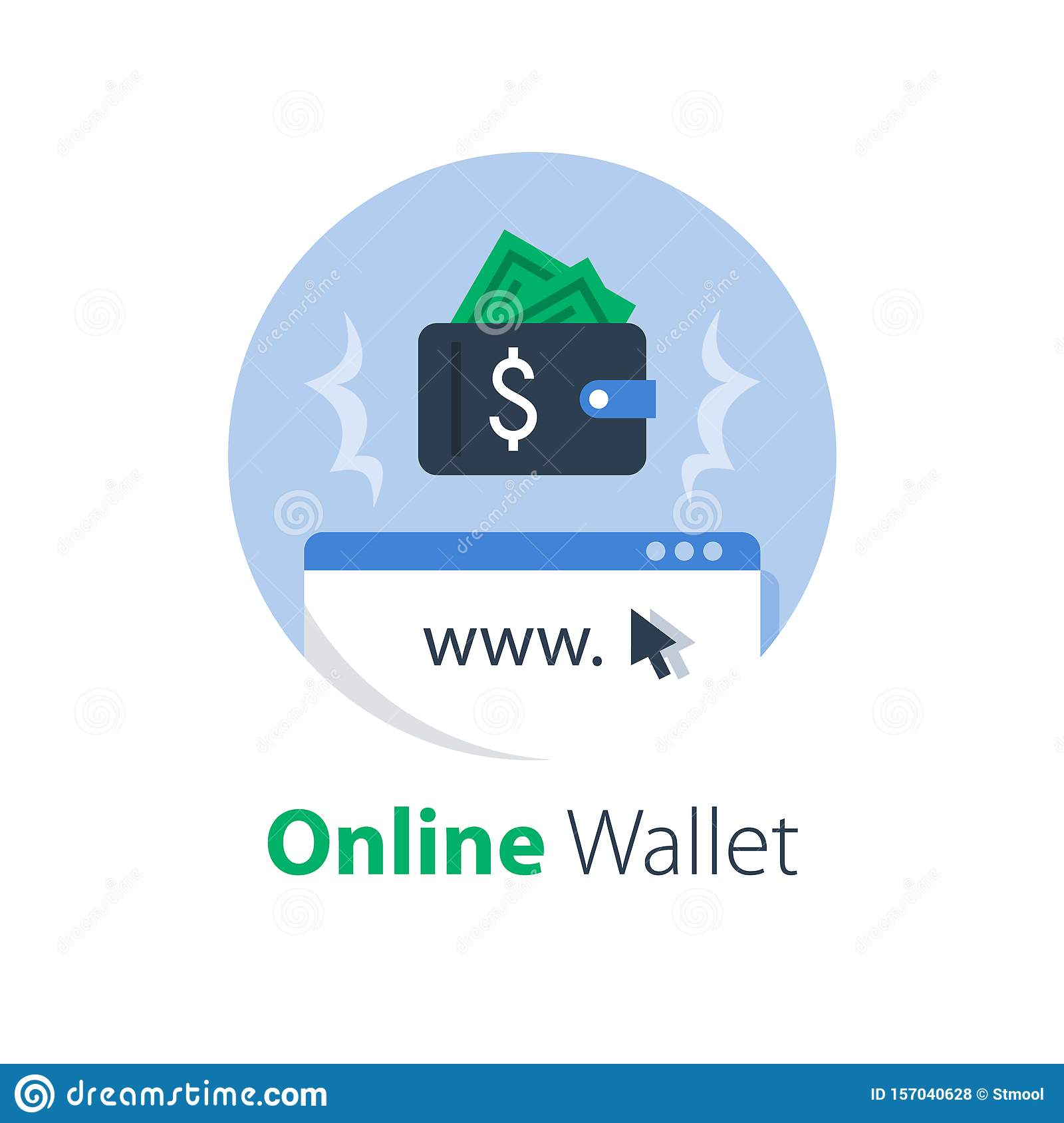 Online Wallet And Banking Services, Internet Payment And