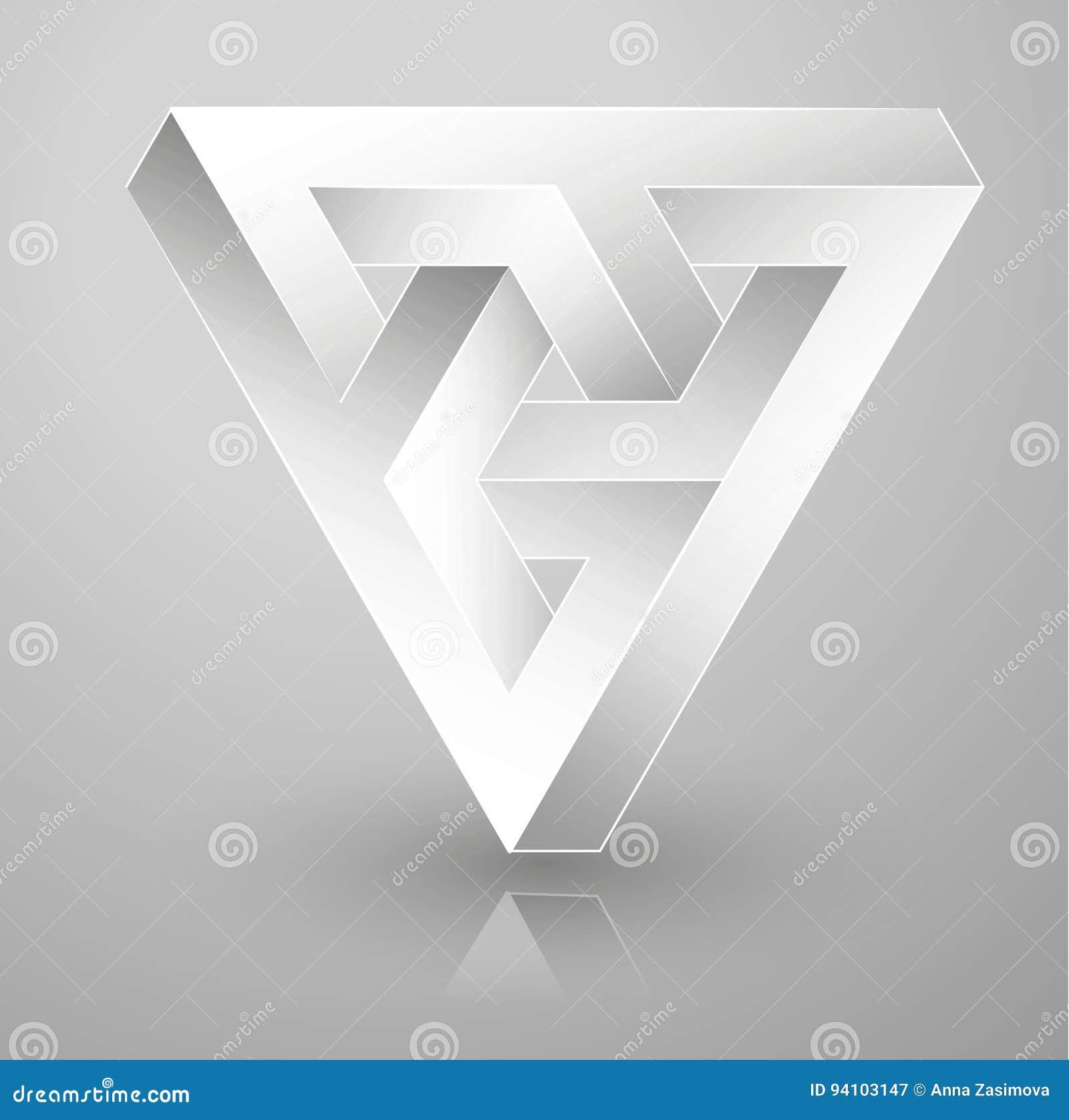Onmogelijke meetkunde Optische illusie