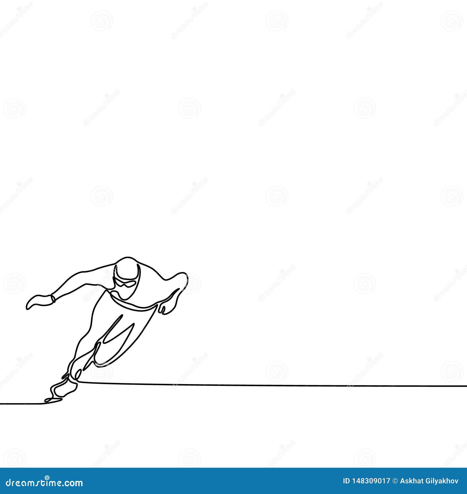 Ononderbroken de agent van de lijnvleet, Olympische de winterspelen