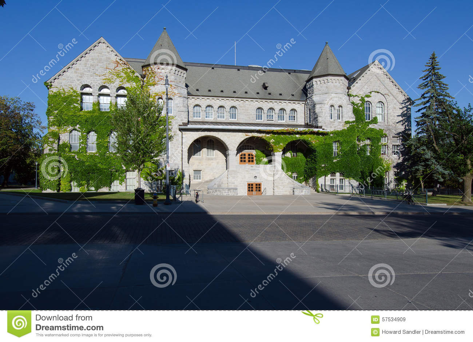 Ontario Hall, une partie d université de la Reine à Kingston