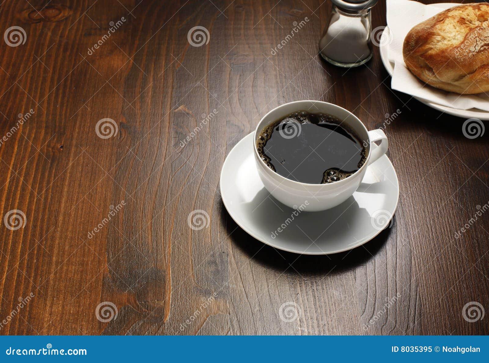Ontbijt met koffie