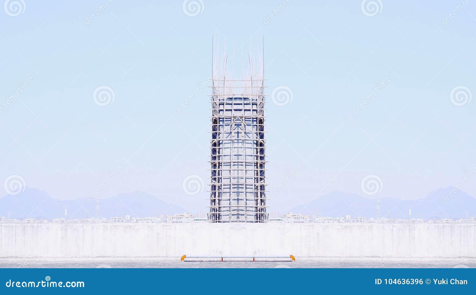 Download Ontbreken van emotie stock foto. Afbeelding bestaande uit toren - 104636396