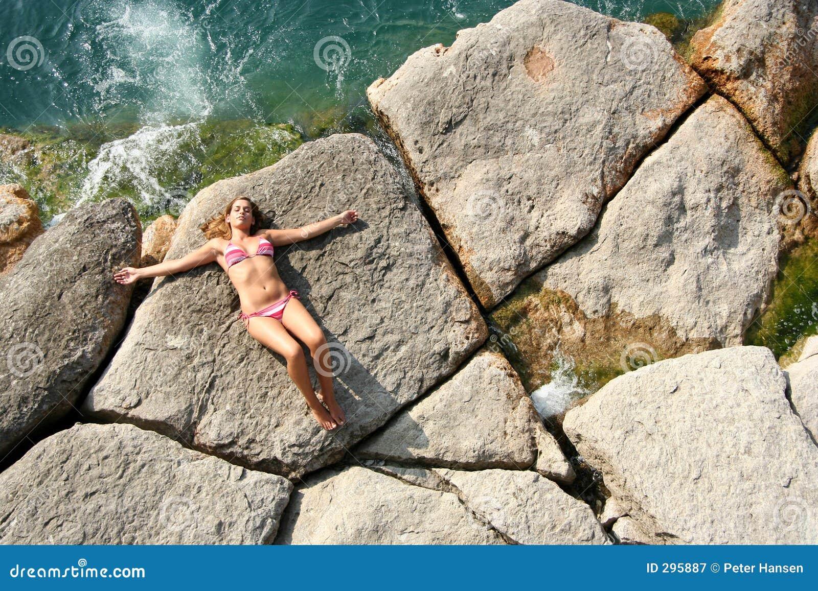 Ontspannen naast het water