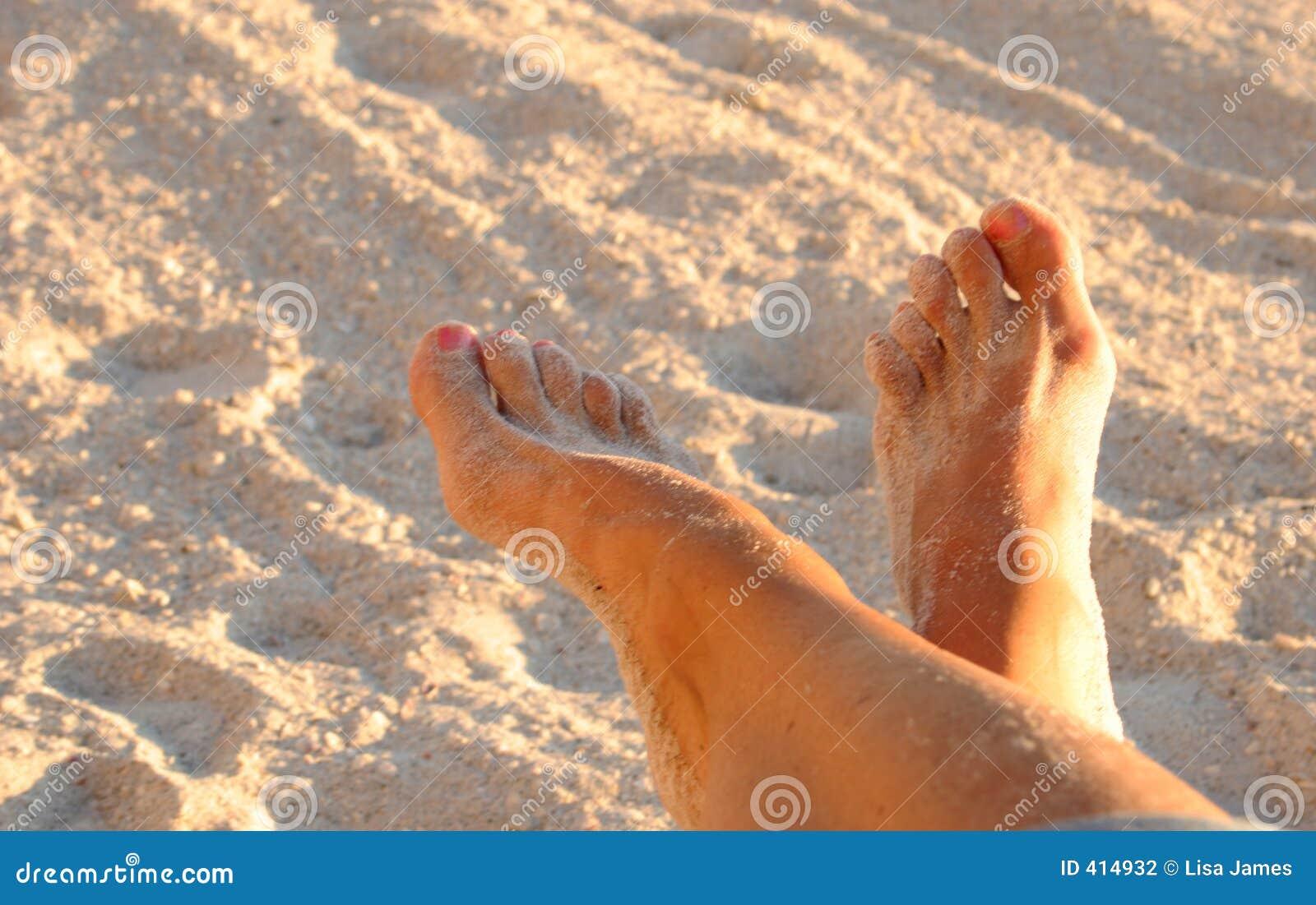 Ontspannen voeten