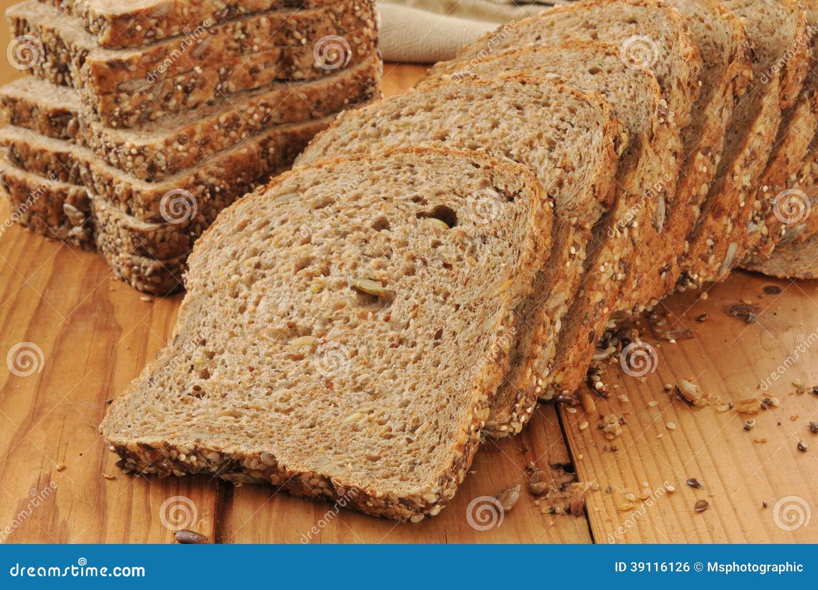 Ontsproten korrel en zaadbrood