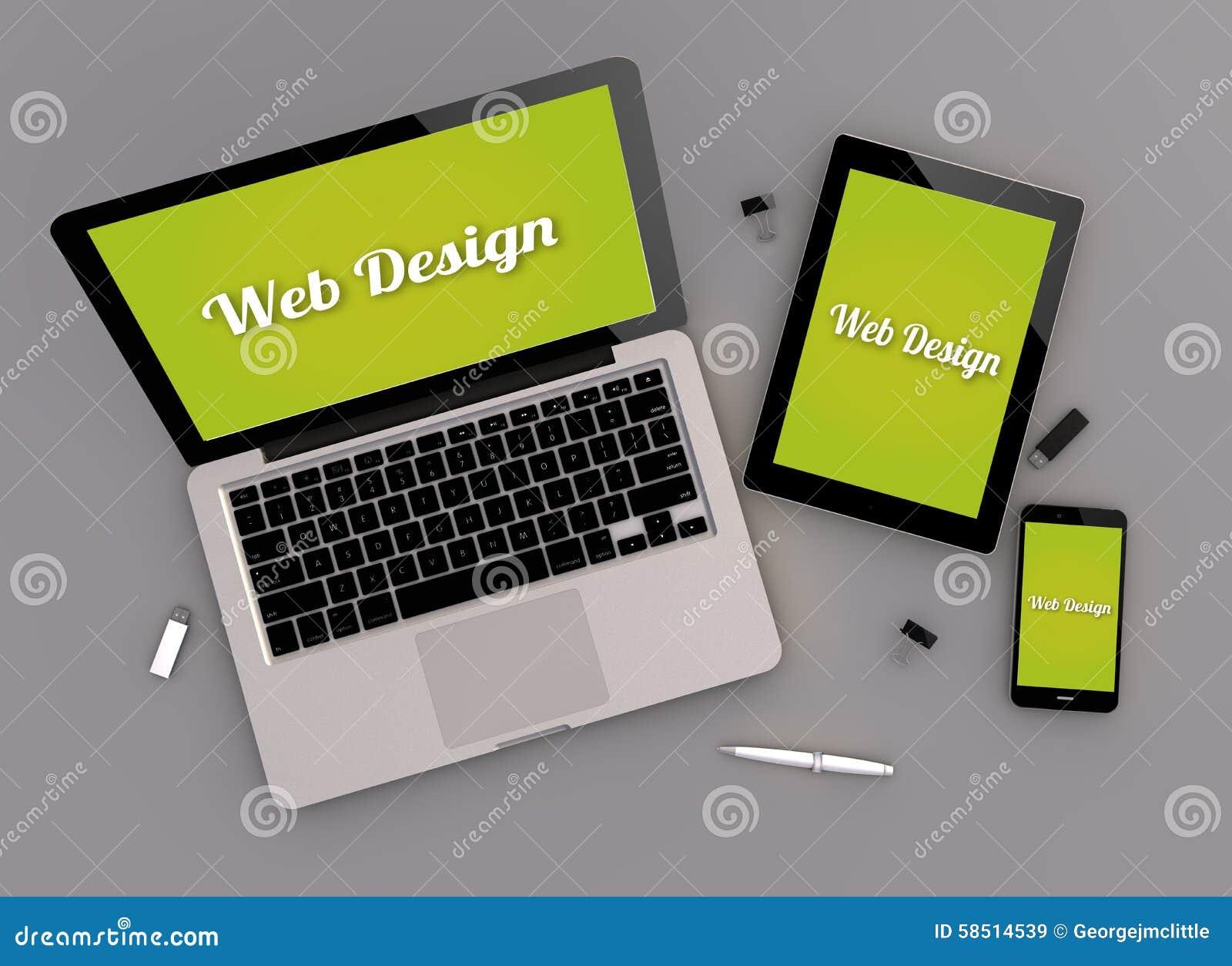 Ontvankelijke het zenitmening van het Webontwerp