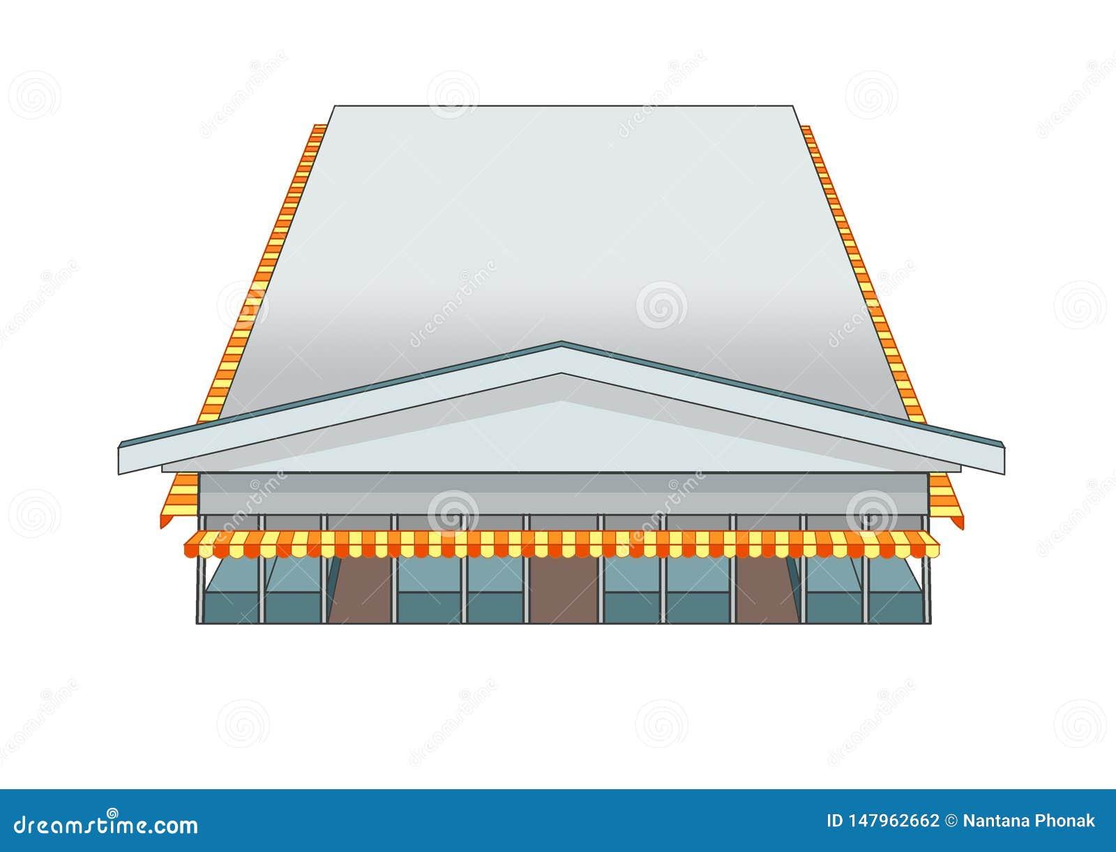 Ontwerp de bouwmarkt en Grijze kleur