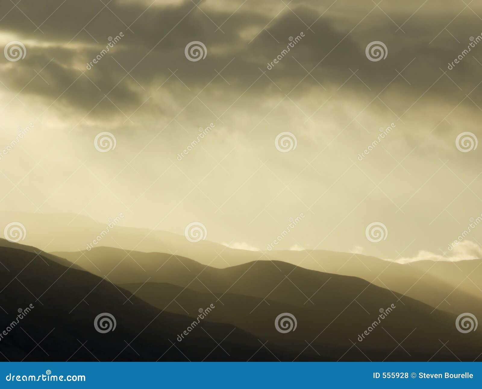 Onweer over Bergen