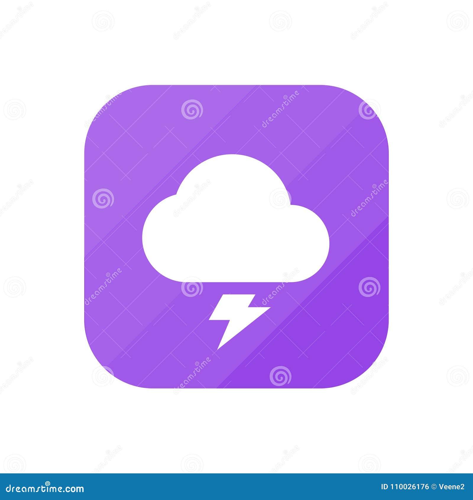 Onweersbui - App Pictogram