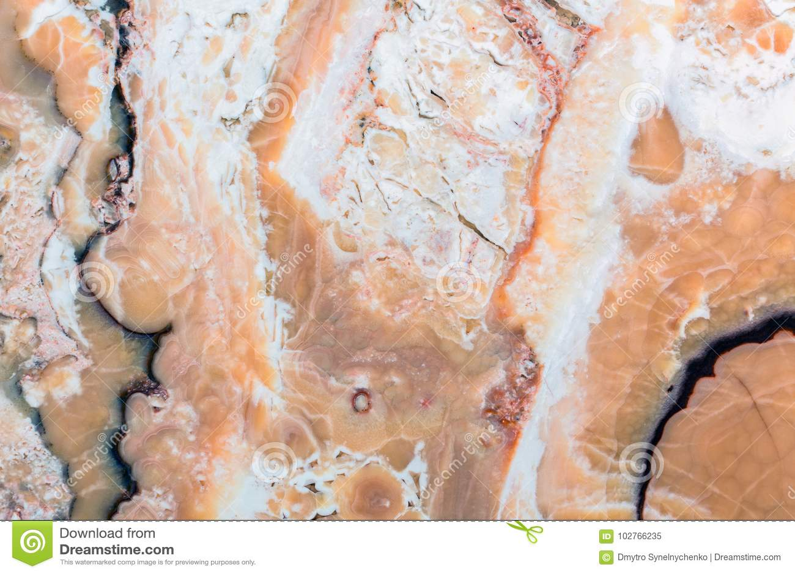 Onyks, unikalna tekstura naturalny kamień