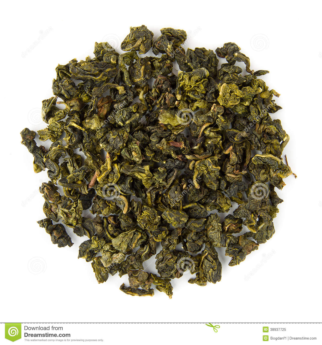 Oolong-Tee milchig