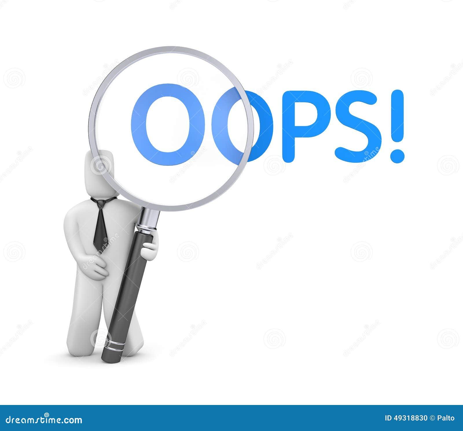 Oops Sorry Business Man Cartoon Vector | CartoonDealer.com ...  Oops Sorry Busi...