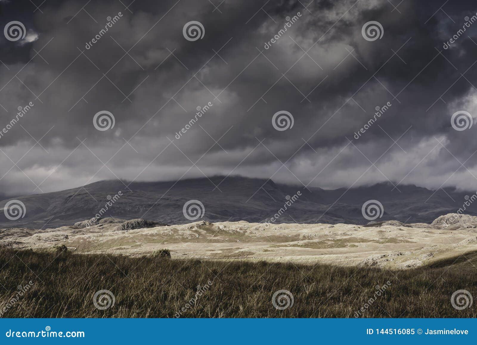 Oorspronkelijk milieu van Meerdistrict, Cumbria, het UK