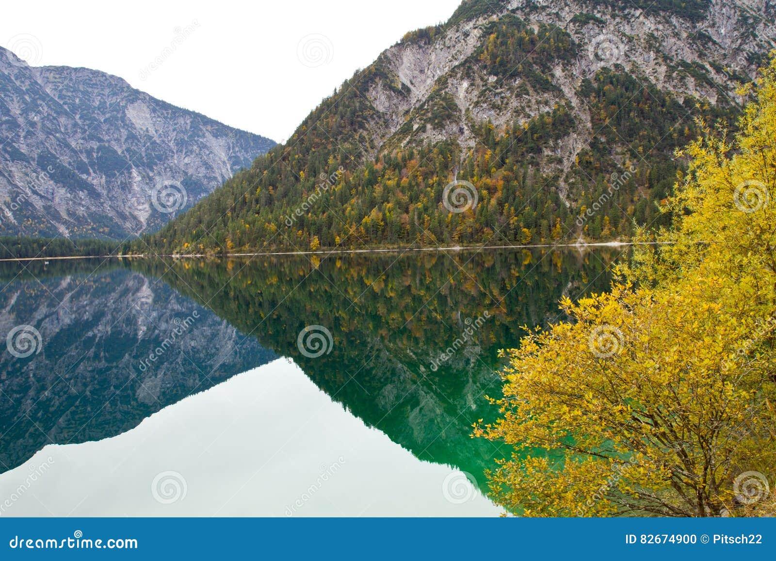 Oostenrijk, Meer Plansee dichtbij Reutte