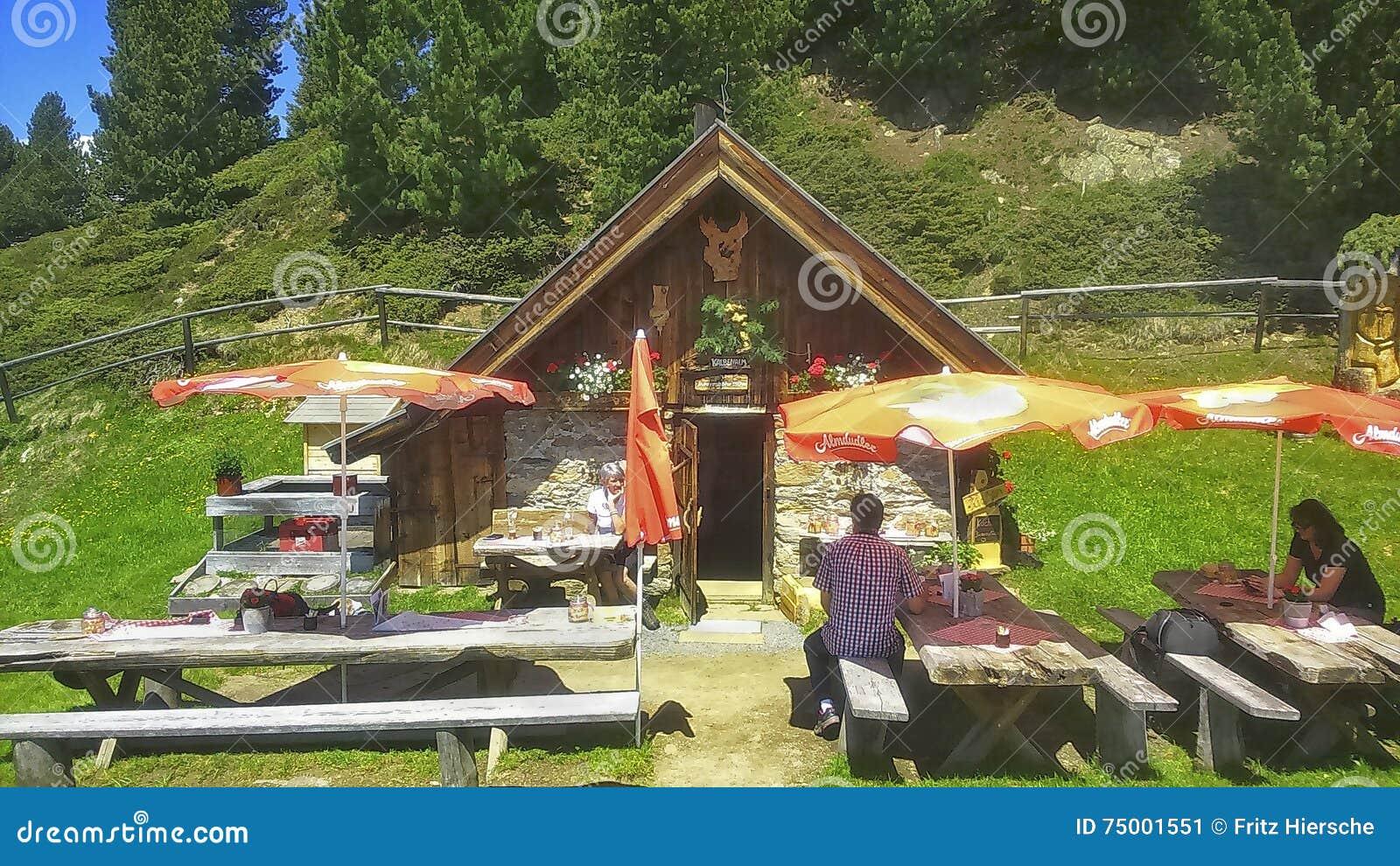 Oostenrijk, Tirol, bergherberg