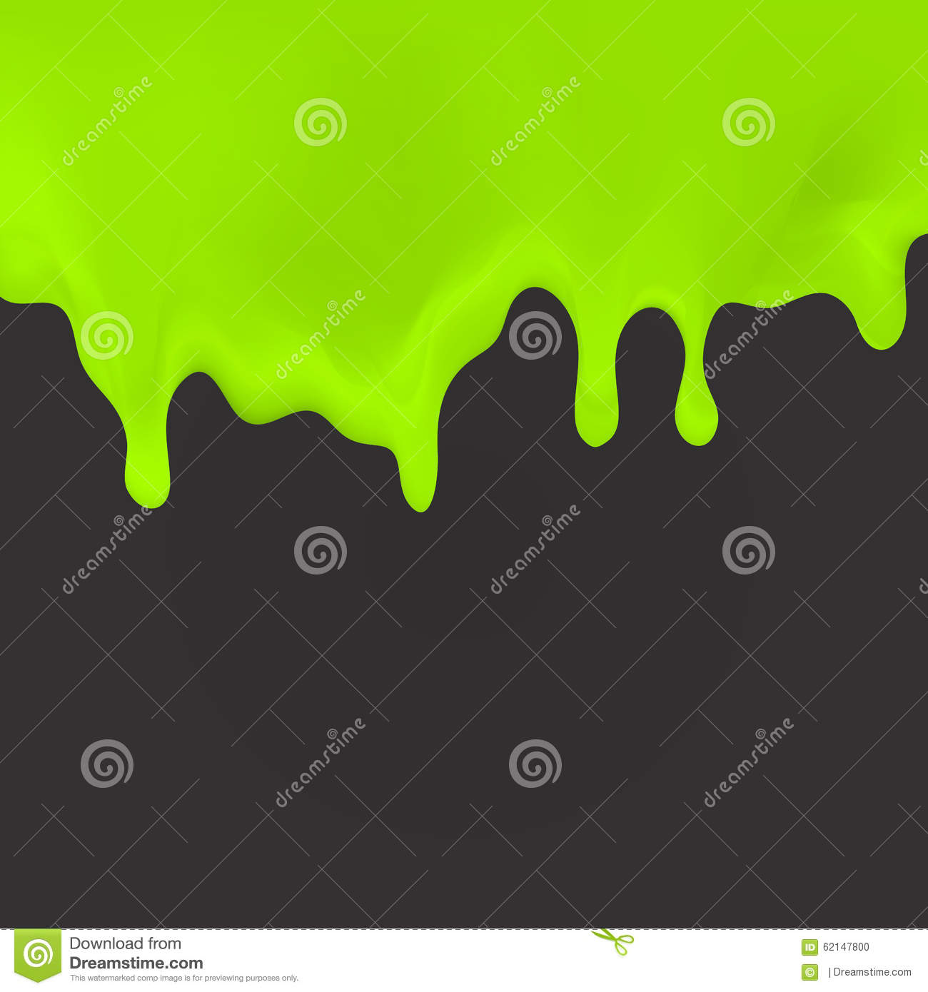 Oozing Slime Seamlessly Repeatable Stock Vector - Image ...