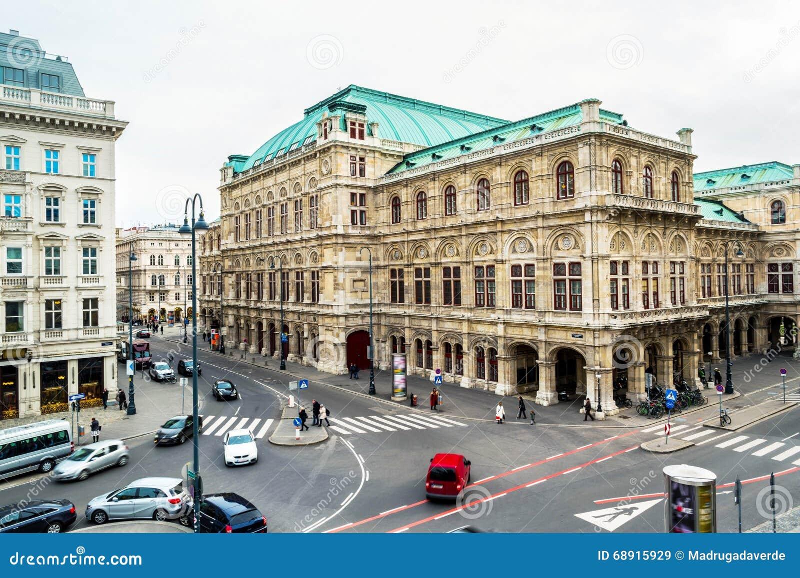 Opéra d état de Vienne au cours de la journée