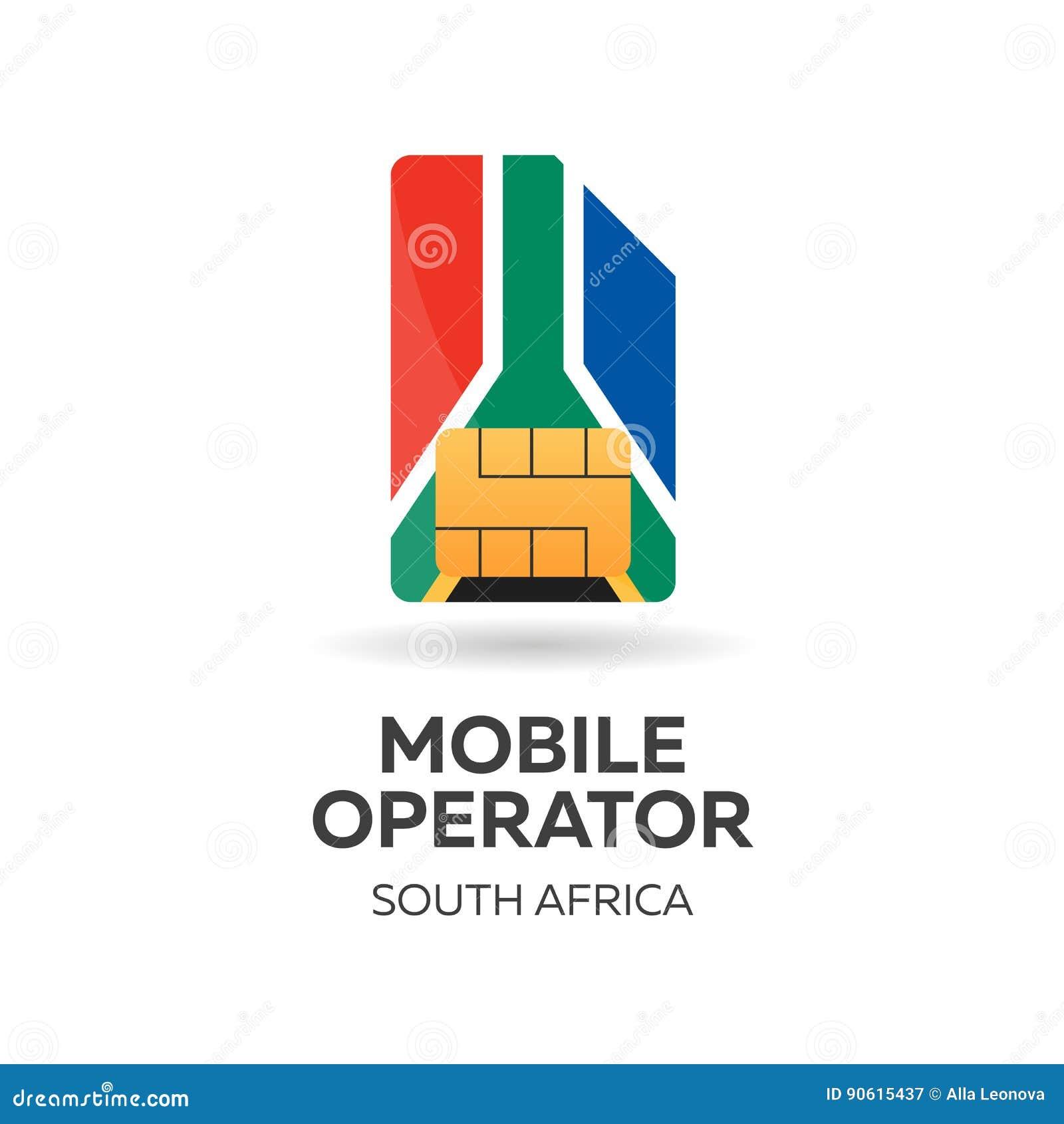 Carte Sim Afrique Du Sud.Operateur Mobile De L Afrique Du Sud Carte De Sim Avec Le