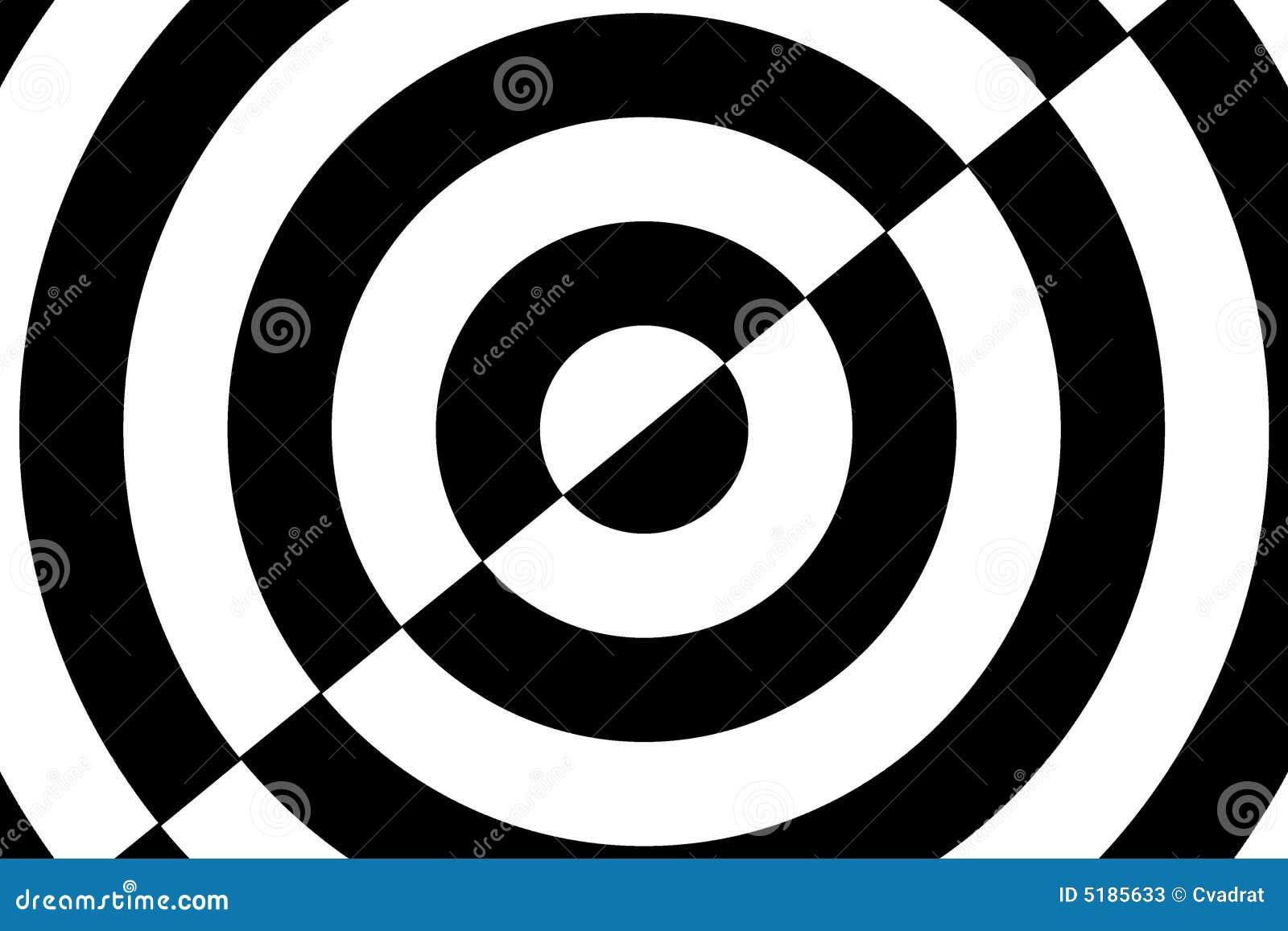 Op Art Counter Circles Stock Photos - Image: 5185633