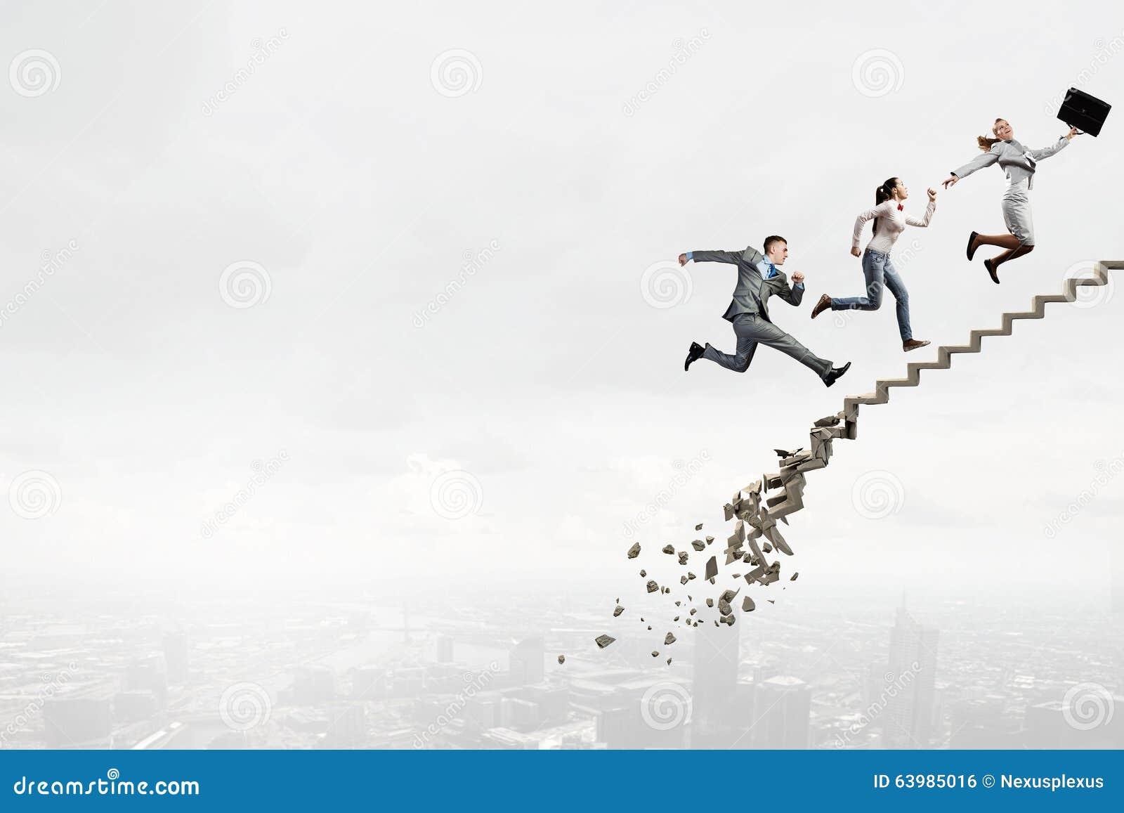 Op de carrièreladder die uitdagingen overwinnen