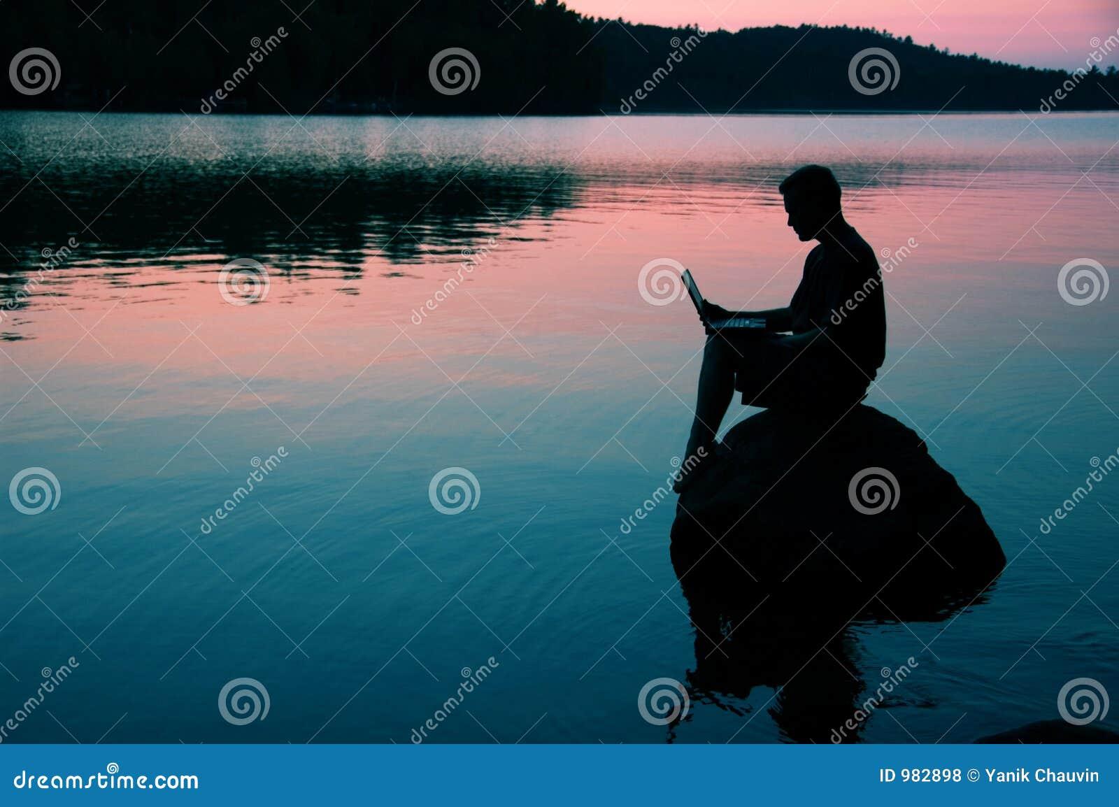Op het meer