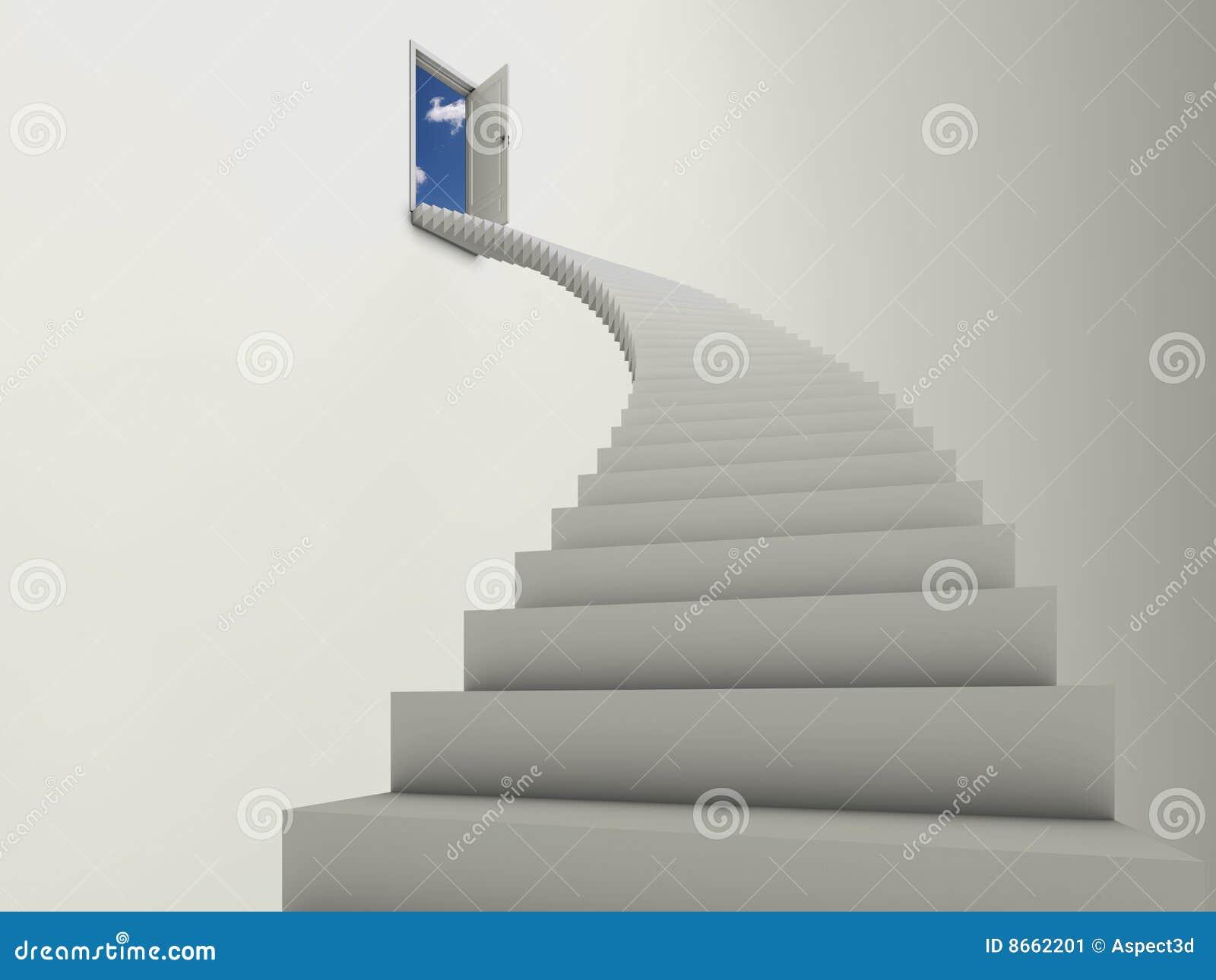 Opacifie l escalier à