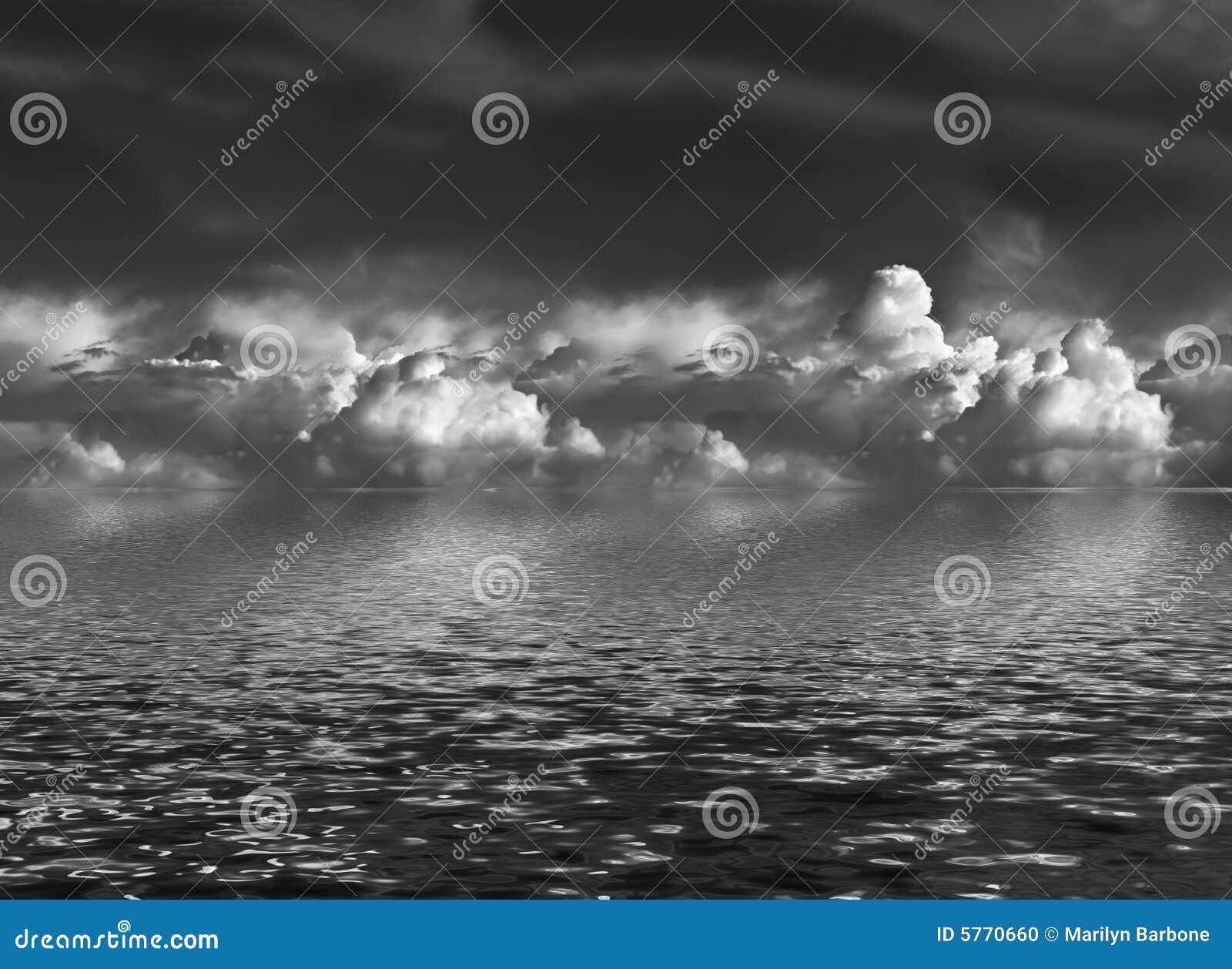 Opacifie le cumulus au-dessus de l eau