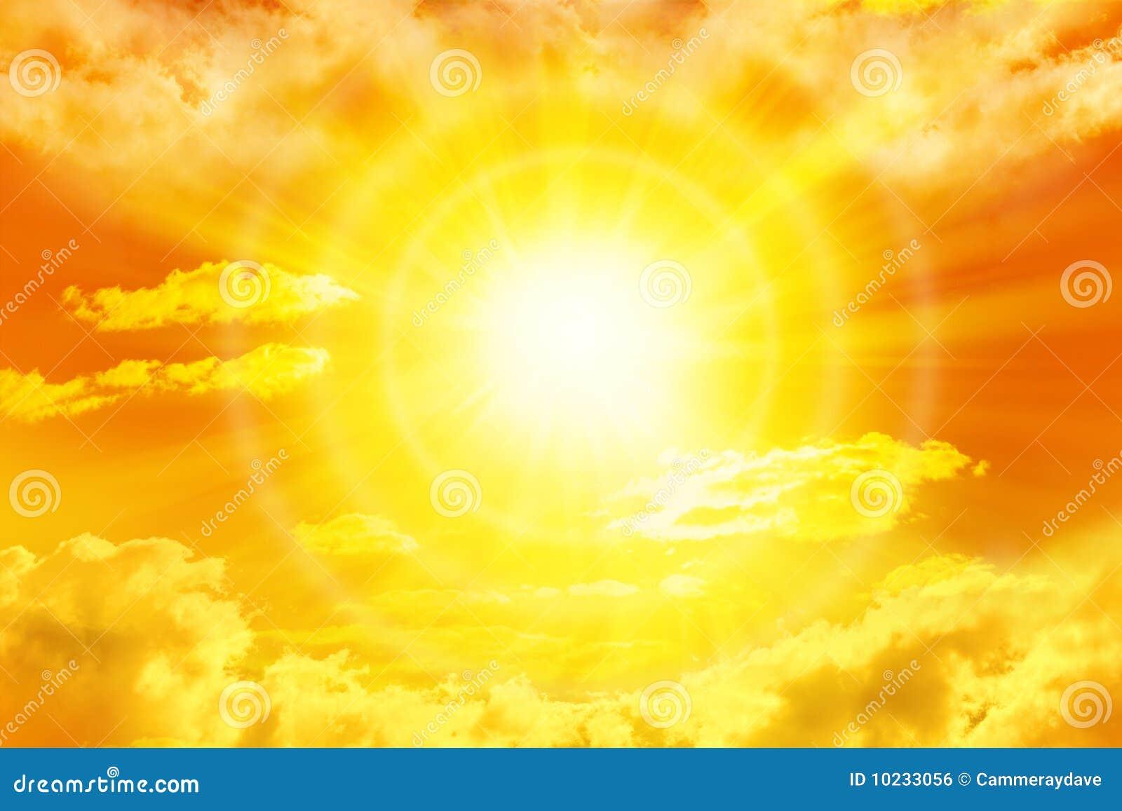 Opacifie le soleil de ciel