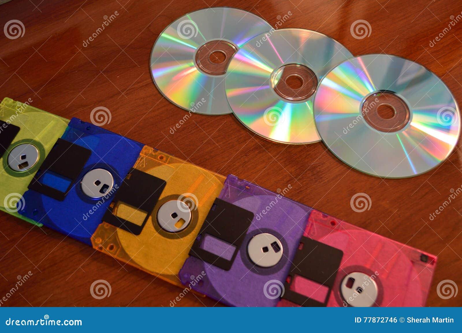 Opadający dyski x27 i CD&; s