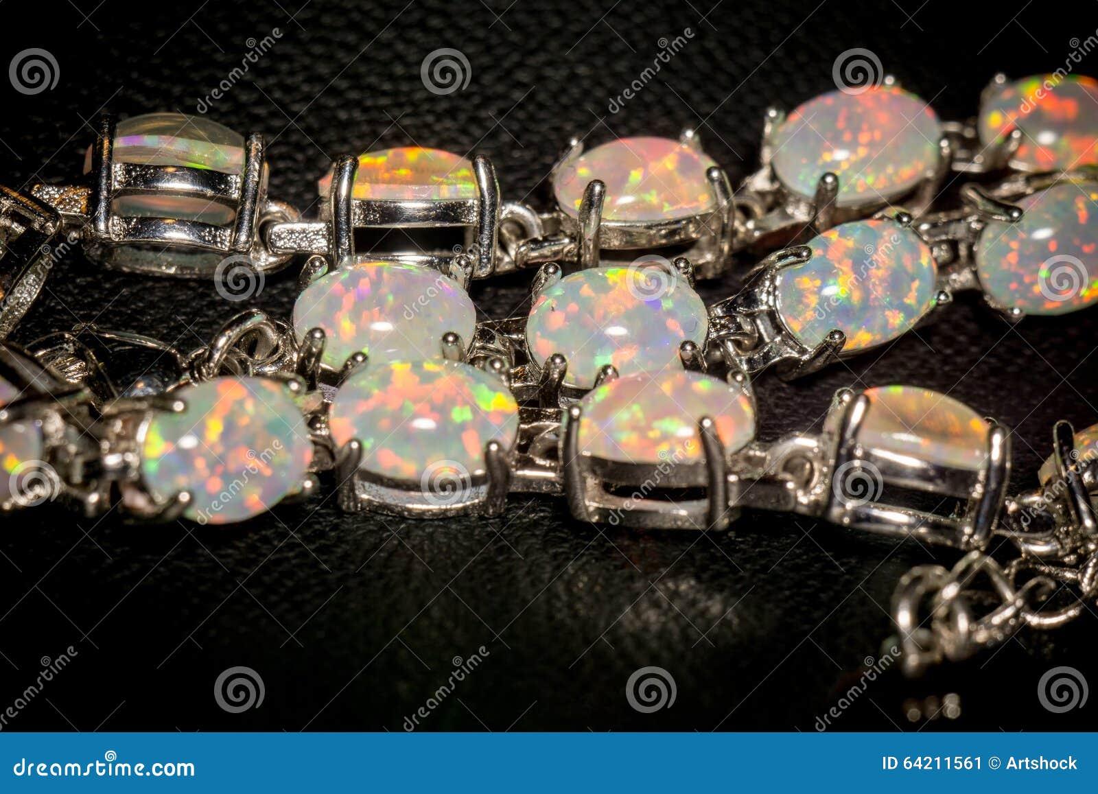 Opal Bracelet blanco