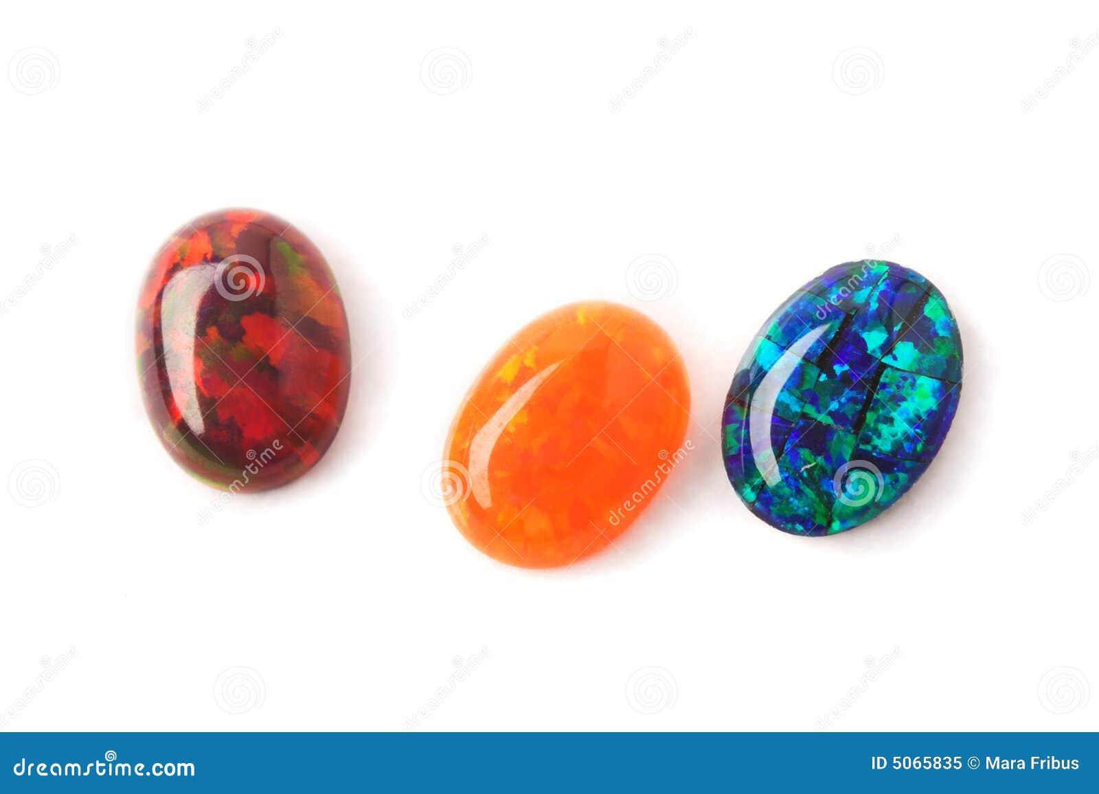 Opals do laboratório