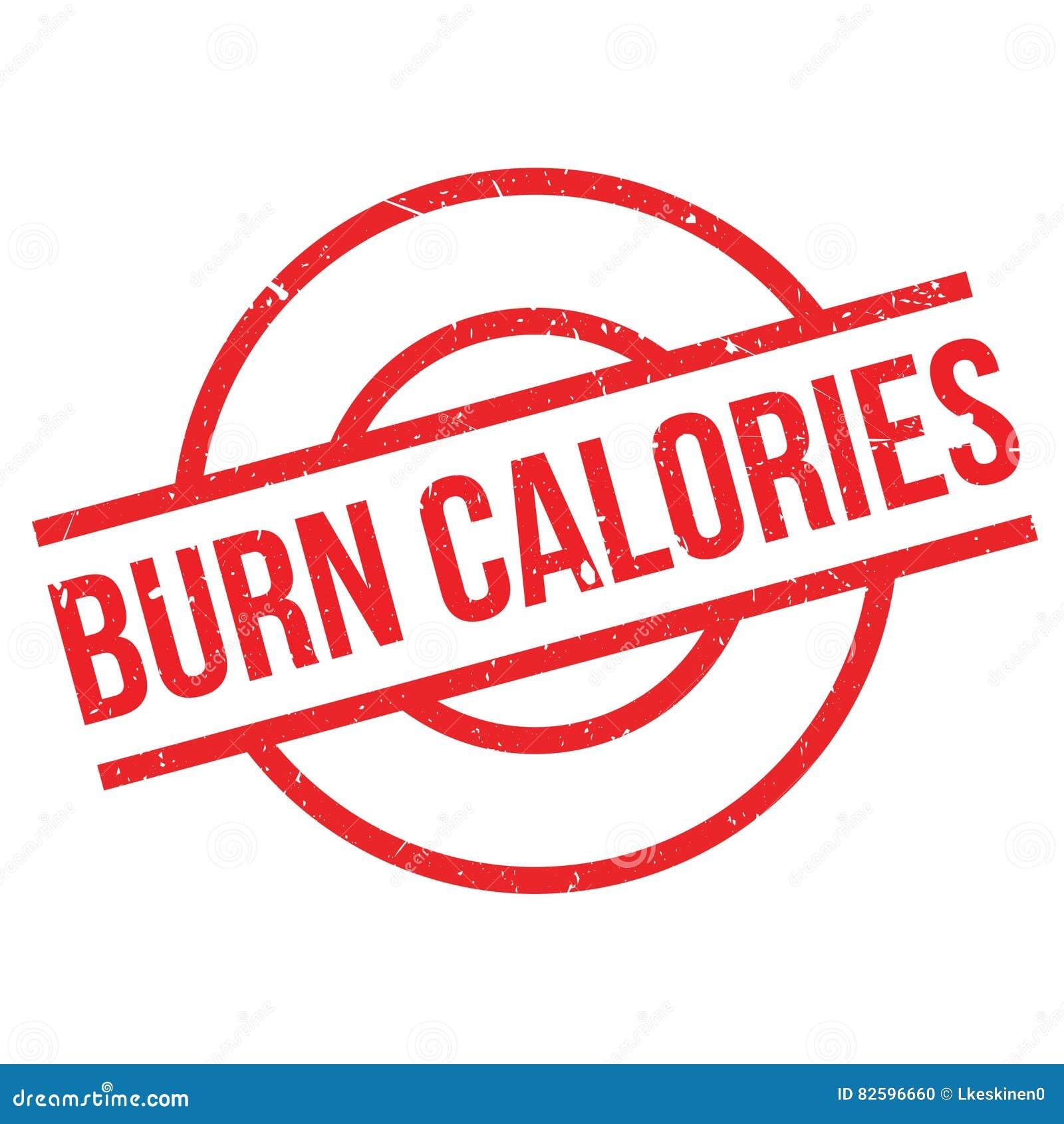 Oparzenie kalorii pieczątka