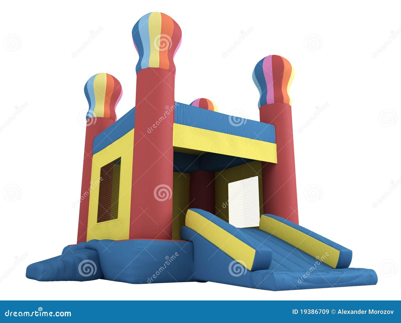 Opblaasbaar kasteel