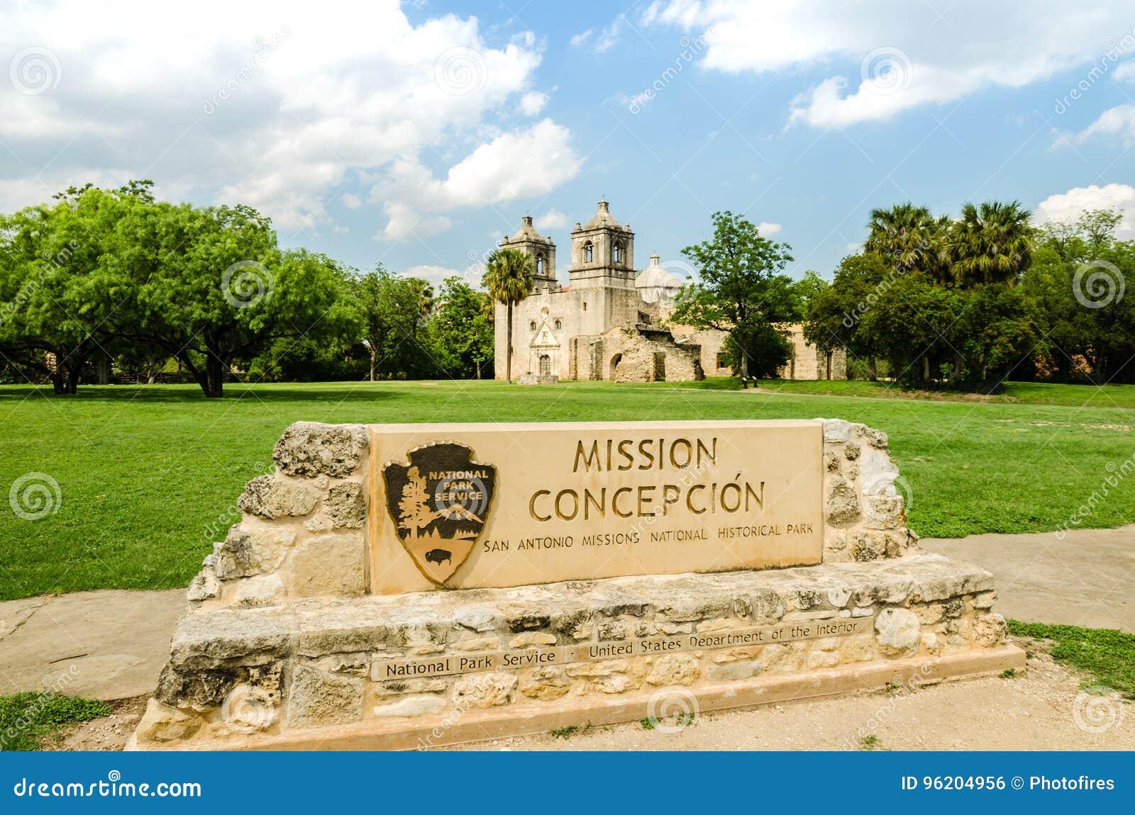 Opdracht Concepción in San-antonio Texas