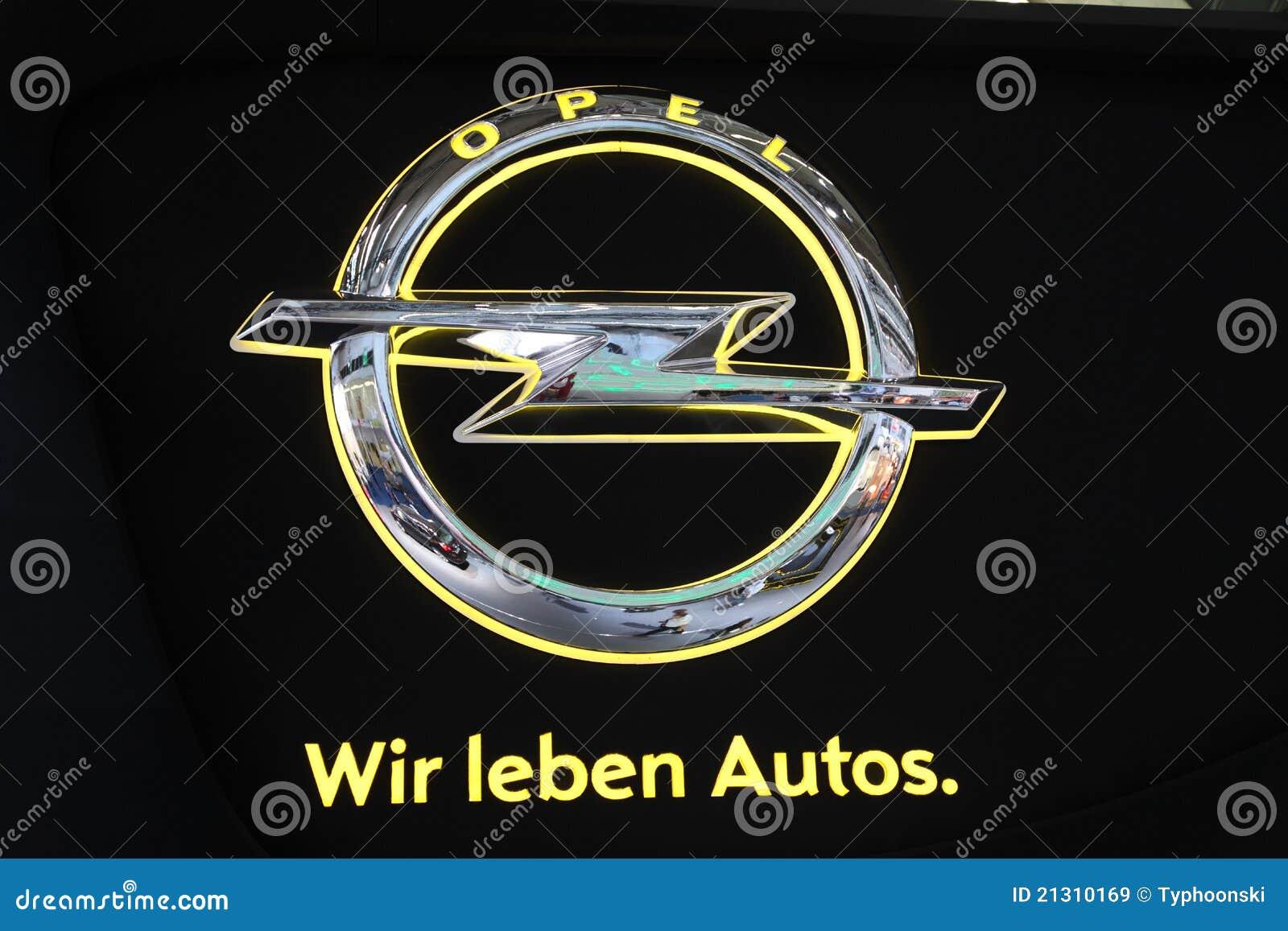 Opel Logo Opel Company Logo Editorial