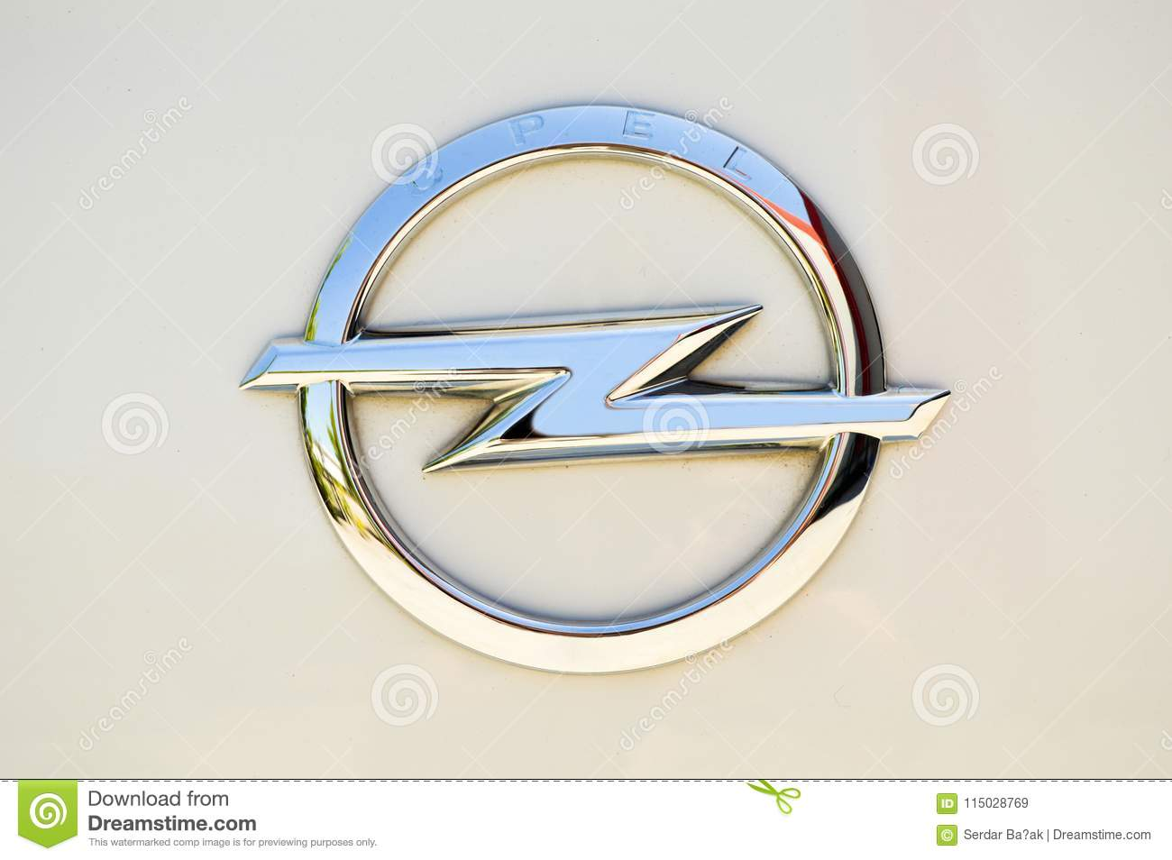 Opel Metal Symbol Editorial Stock Image Image Of Expensive 115028769