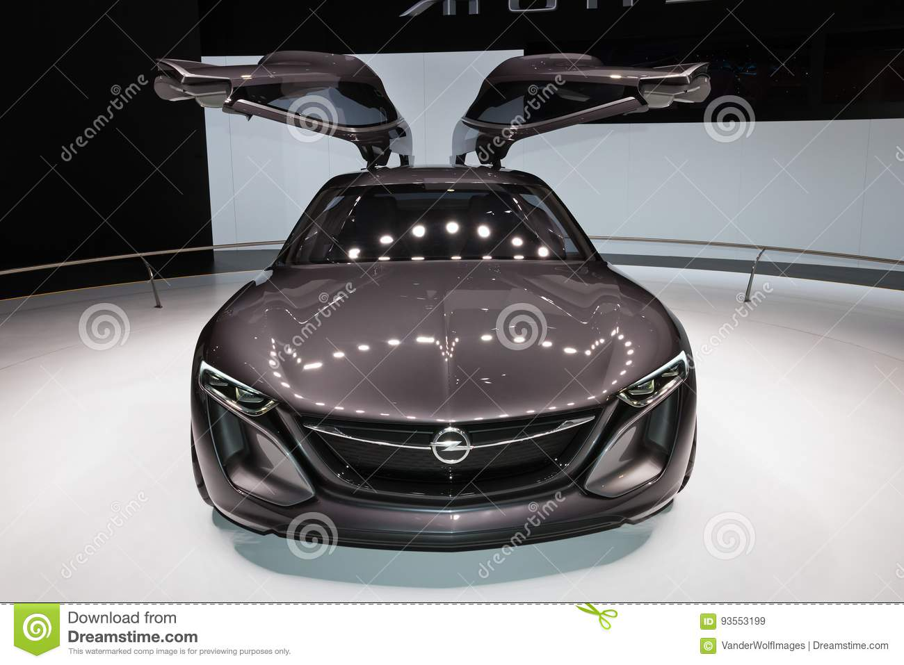 Opel Monza Car Editorial Stock Image Image Of Salon 93553199
